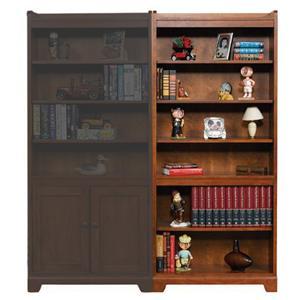 """Winners Only Topaz  72"""" Open Bookcase"""