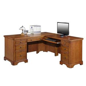 Winners Only Topaz  L Shaped Desk and Return