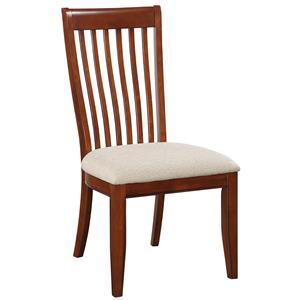 Winners Only Topaz Slat Back Side Chair