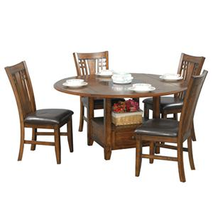 Winners Only Zahara 5 Piece Dining Table and Chair Set
