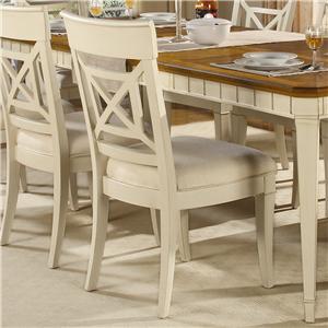 Flexsteel Wynwood Collection Garden Walk Dining Side Chair