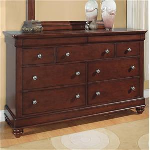 Flexsteel Wynwood Collection Olmsted Dresser