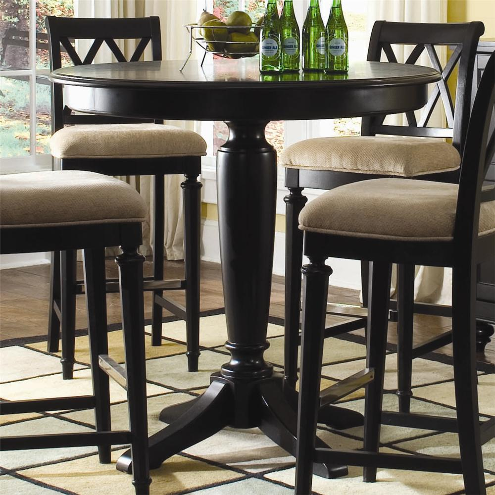 bar height gathering table by american drew wolf and gardiner wolf furniture. Black Bedroom Furniture Sets. Home Design Ideas
