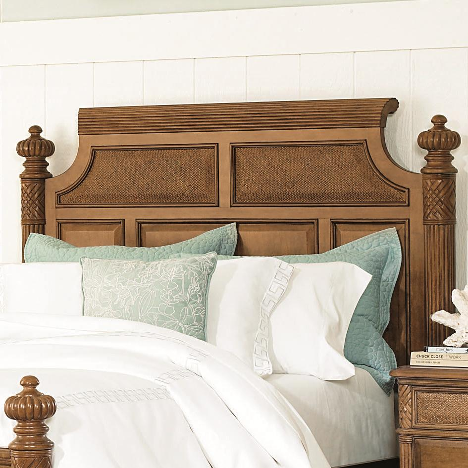 King california king size woven panel island headboard for California king size headboard