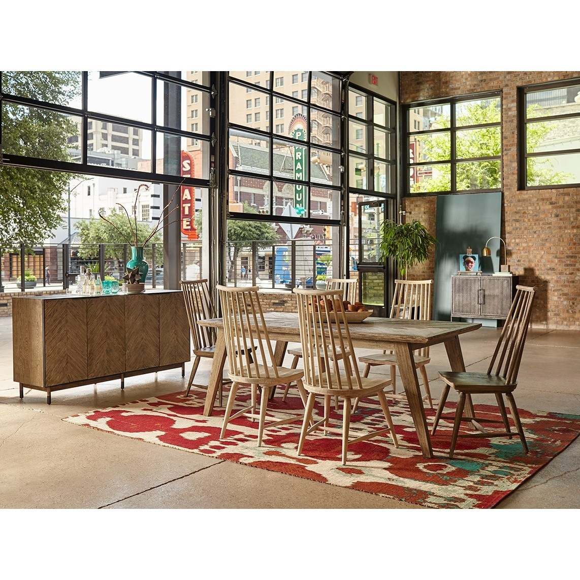 Spoke spindle chair by a r t furniture inc wolf and