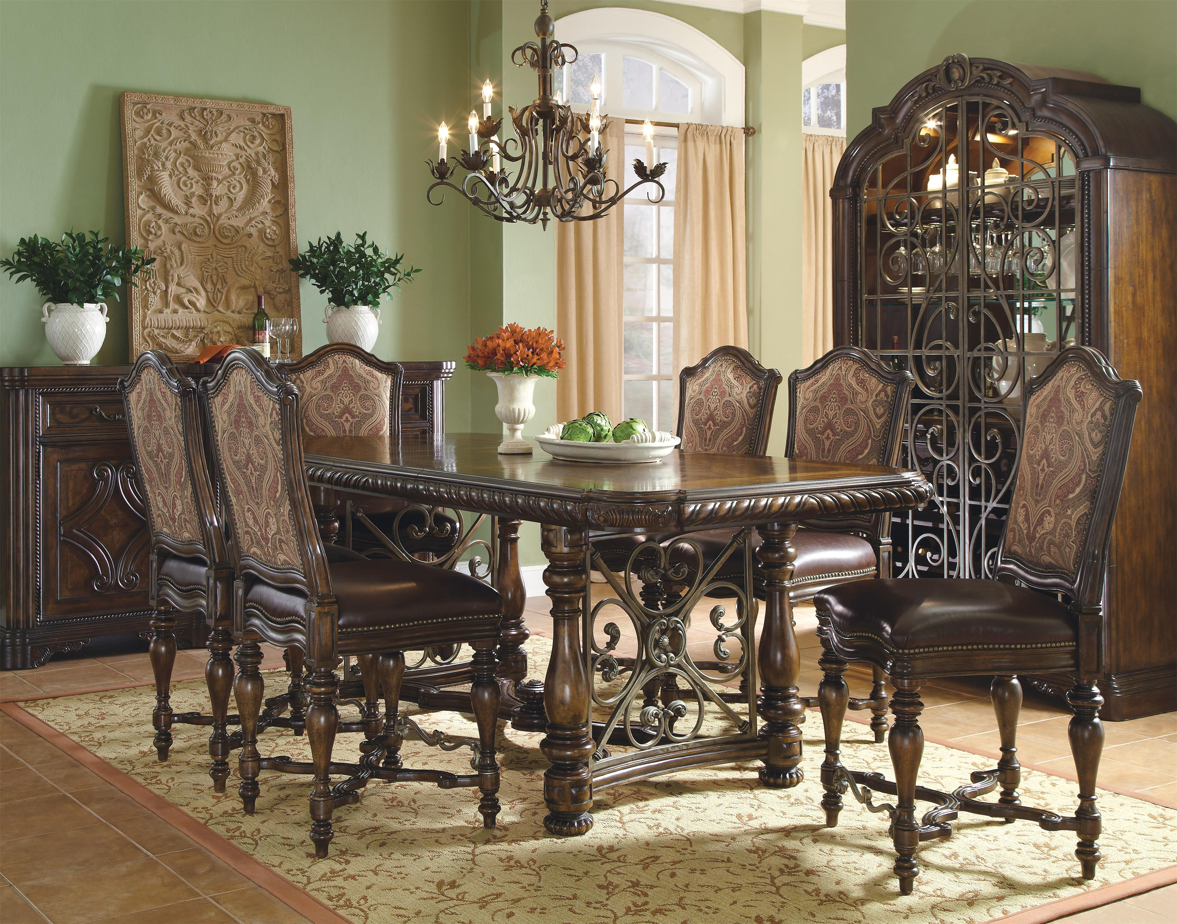 buffet w metal accents by a r t furniture inc wolf and gardiner wolf furniture. Black Bedroom Furniture Sets. Home Design Ideas