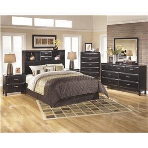 Ashley Furniture Kira Full Storage Bed Regency Furniture