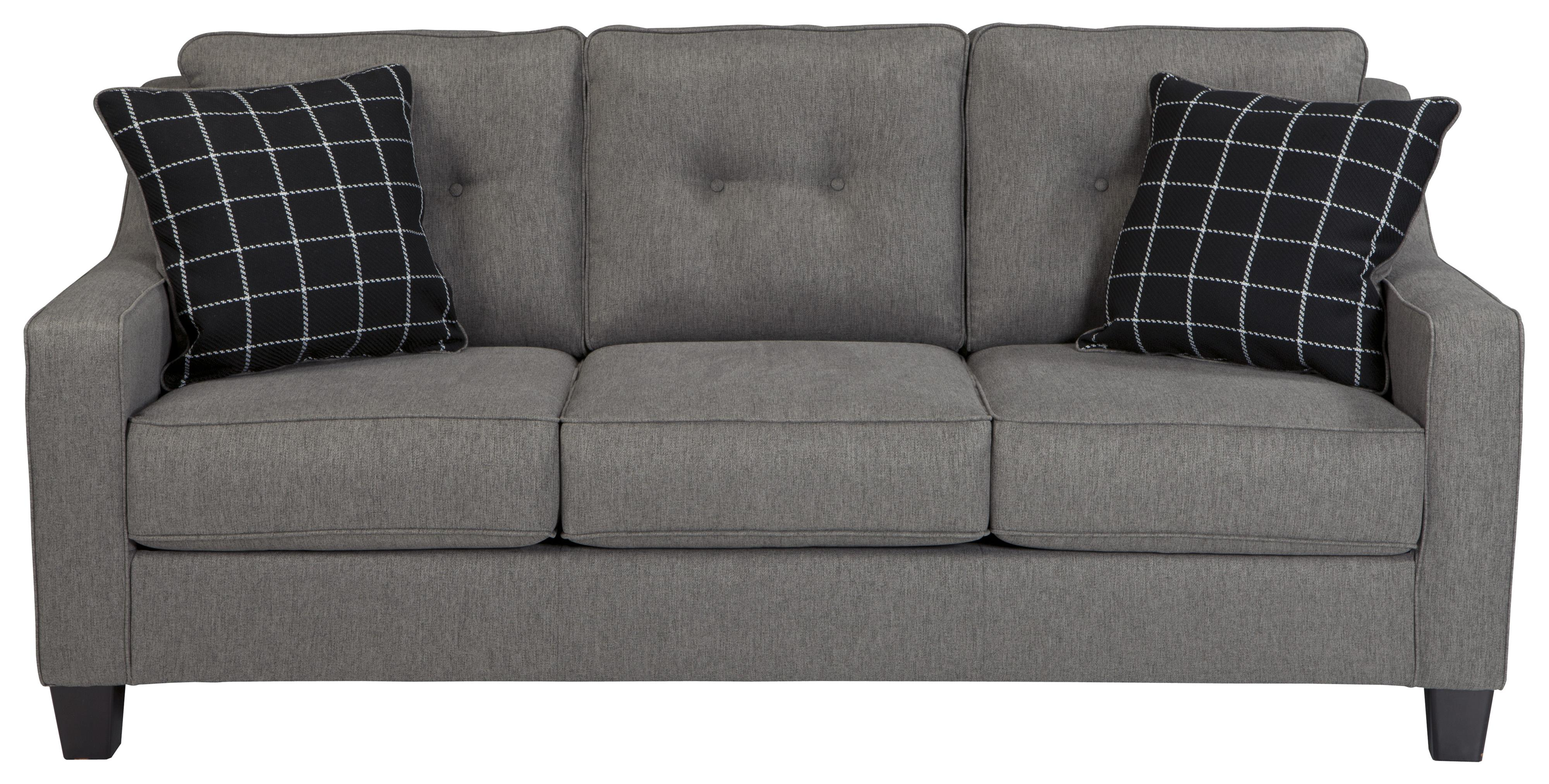 Popular Contemporary Sofa with Track Arms & Tufted Back by Benchcraft  HS04