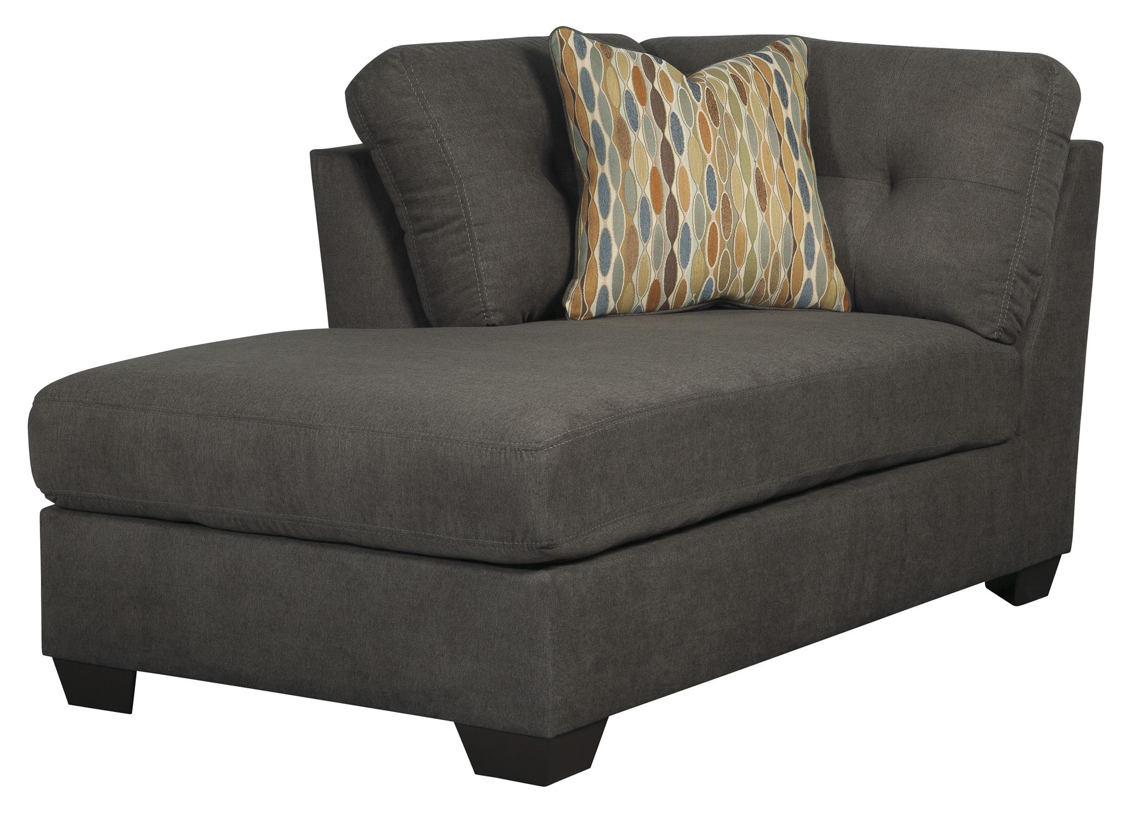 3 piece modular sectional w armless sleeper left chaise for 3 piece sectional sofa with sleeper