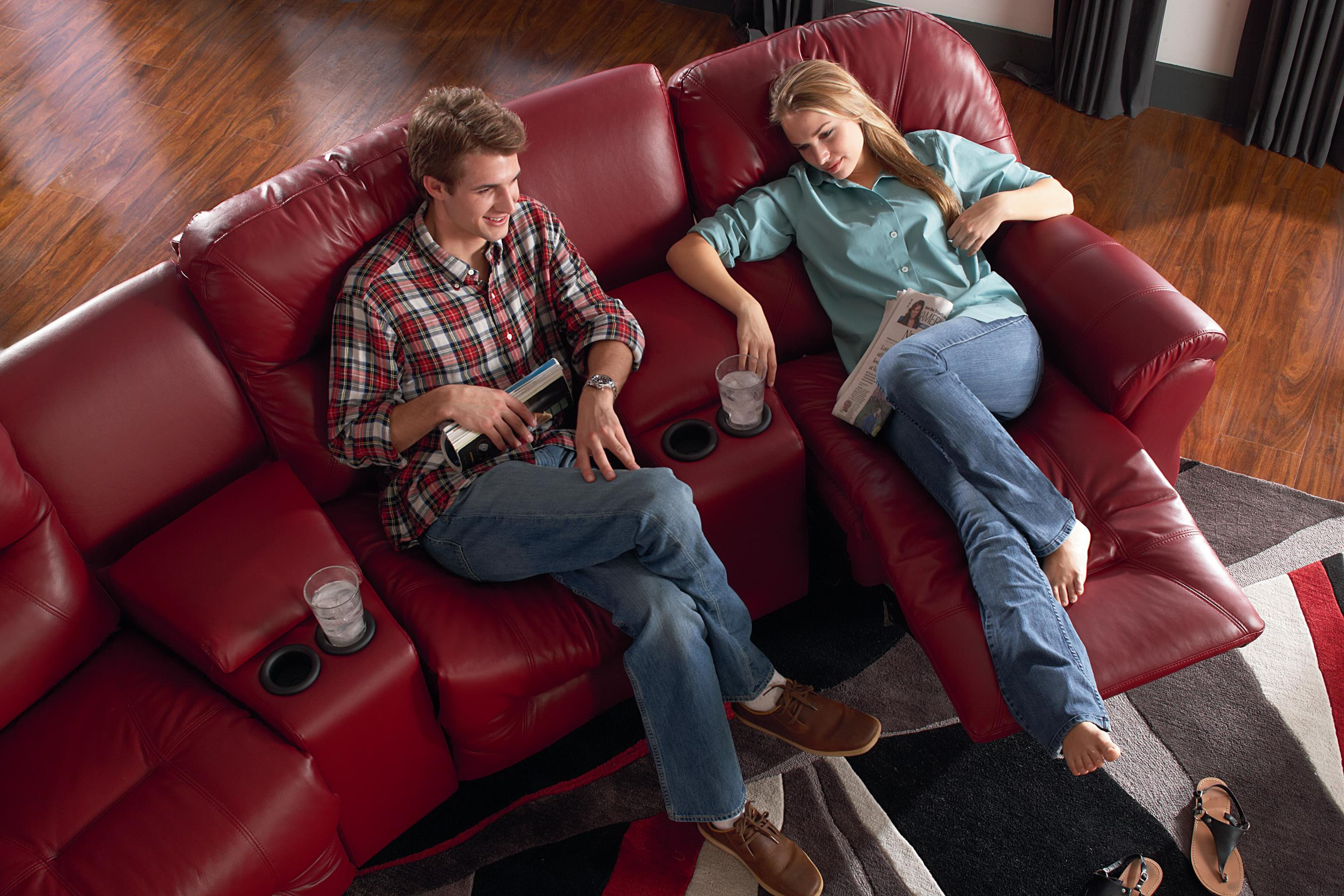 4 seater power reclining home theater group by best home furnishings wolf and gardiner wolf. Black Bedroom Furniture Sets. Home Design Ideas