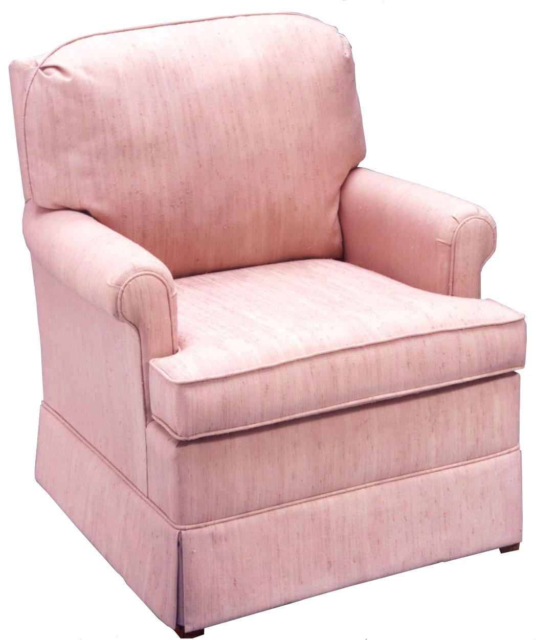 Comfortable Glider Club Chair By Best Home Furnishings