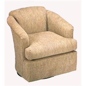 Best Home Furnishings Chairs Swivel Barrel Cass Swivel Barrel Chair