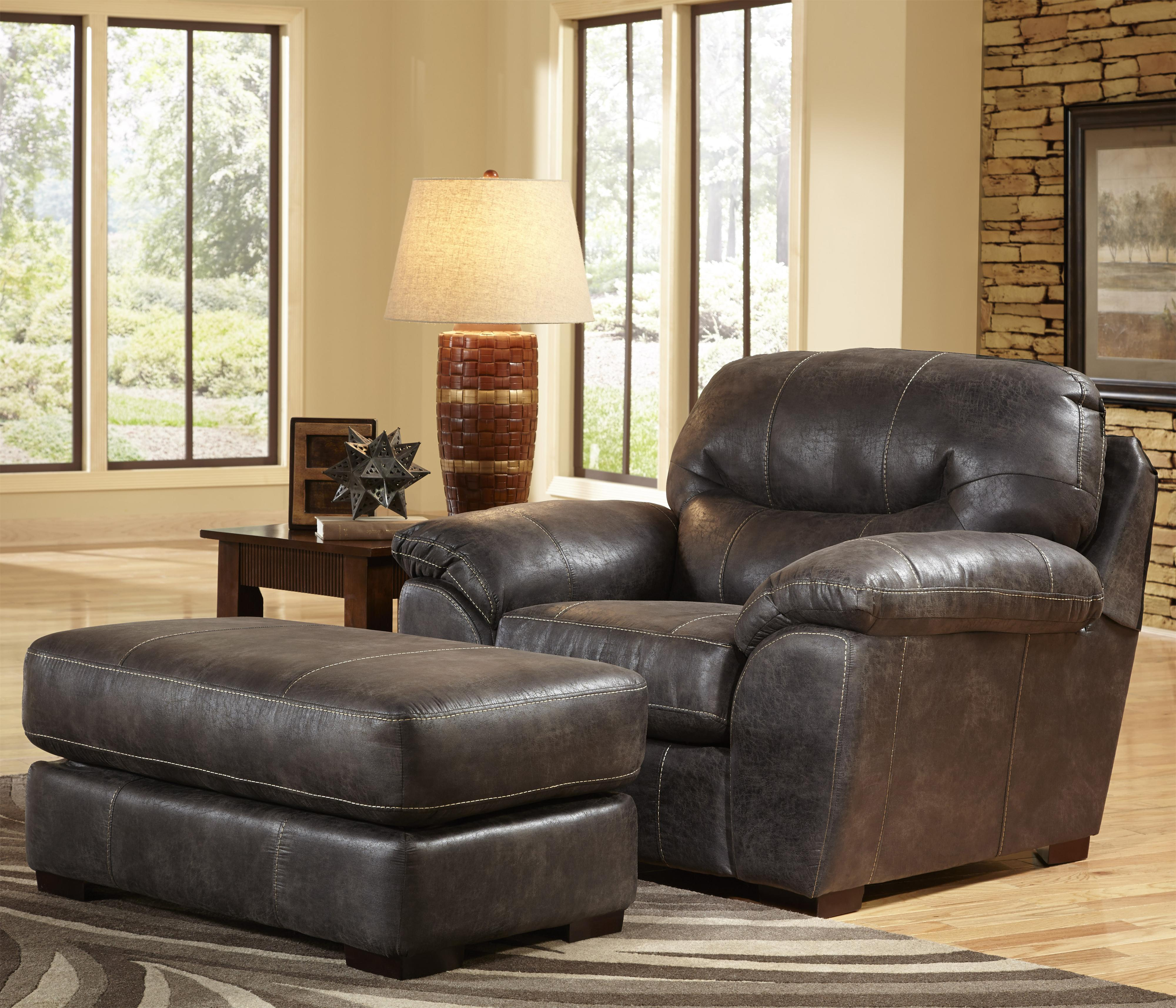 chair and a half for living rooms and family rooms by jackson furniture wolf and gardiner wolf. Black Bedroom Furniture Sets. Home Design Ideas