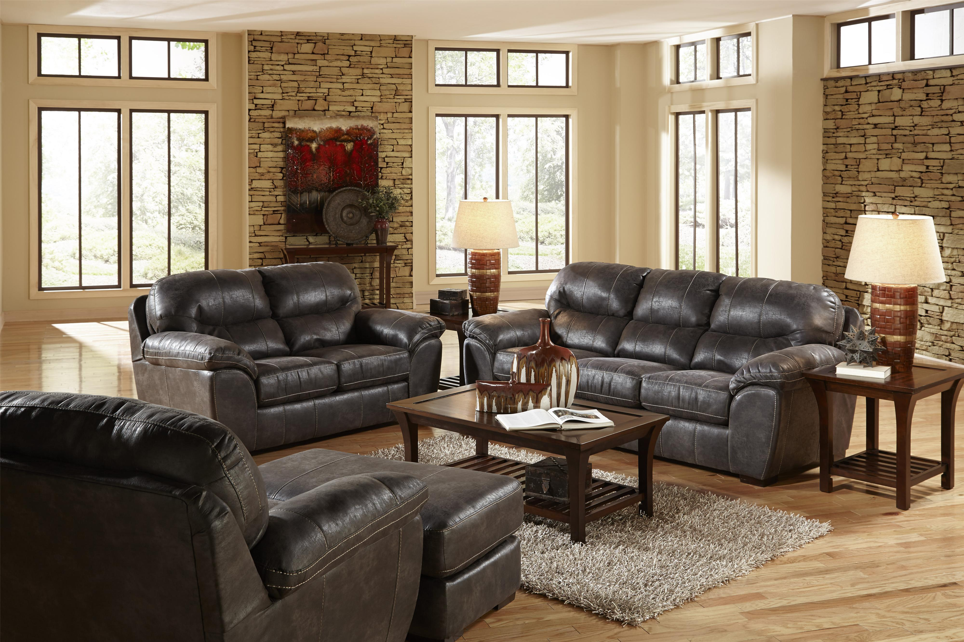Faux leather sleeper sofa for living rooms and family for Family sofa sets