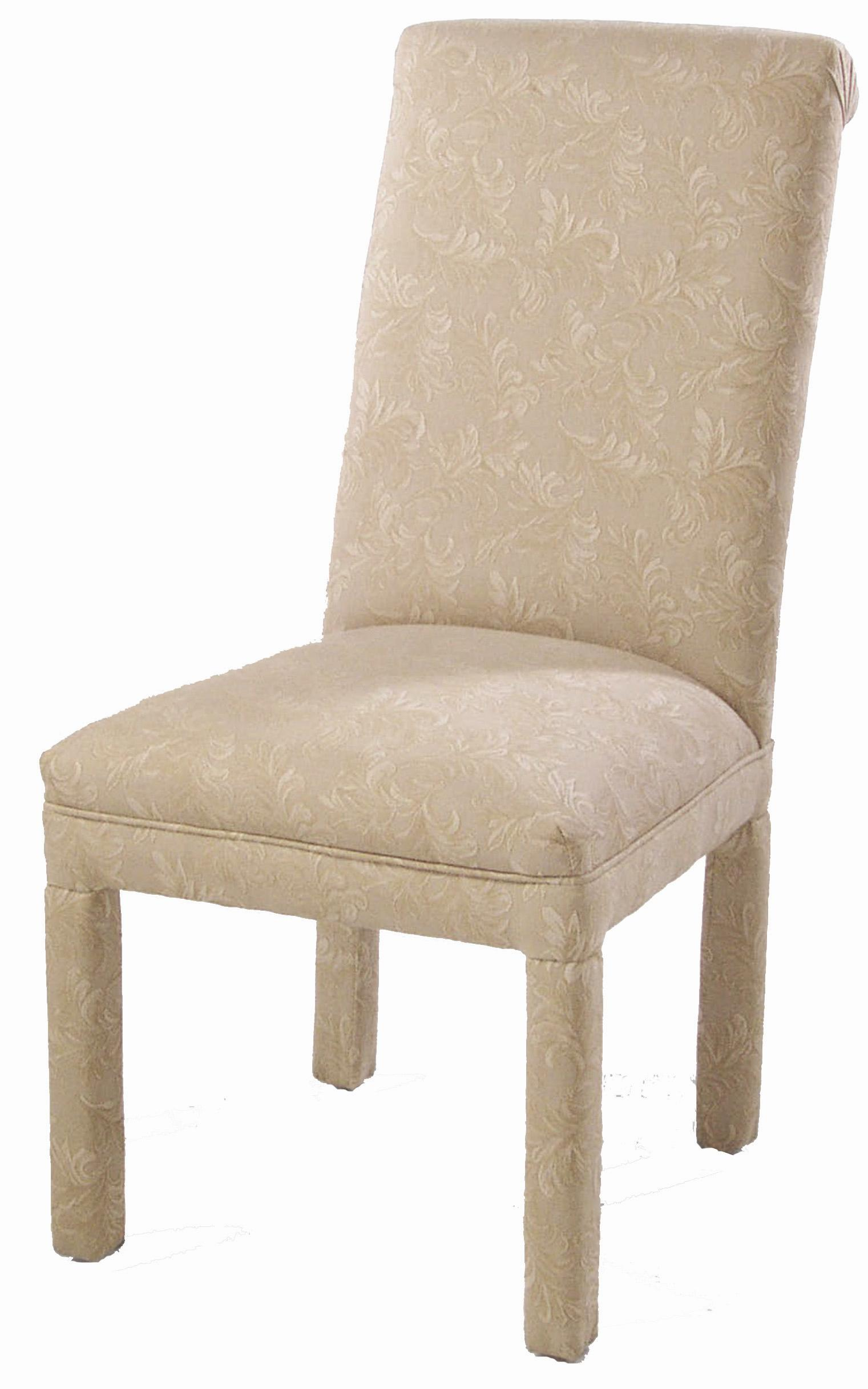 Upholstered dining chair by cmi wolf and gardiner wolf for Upholstered accent chairs cheap
