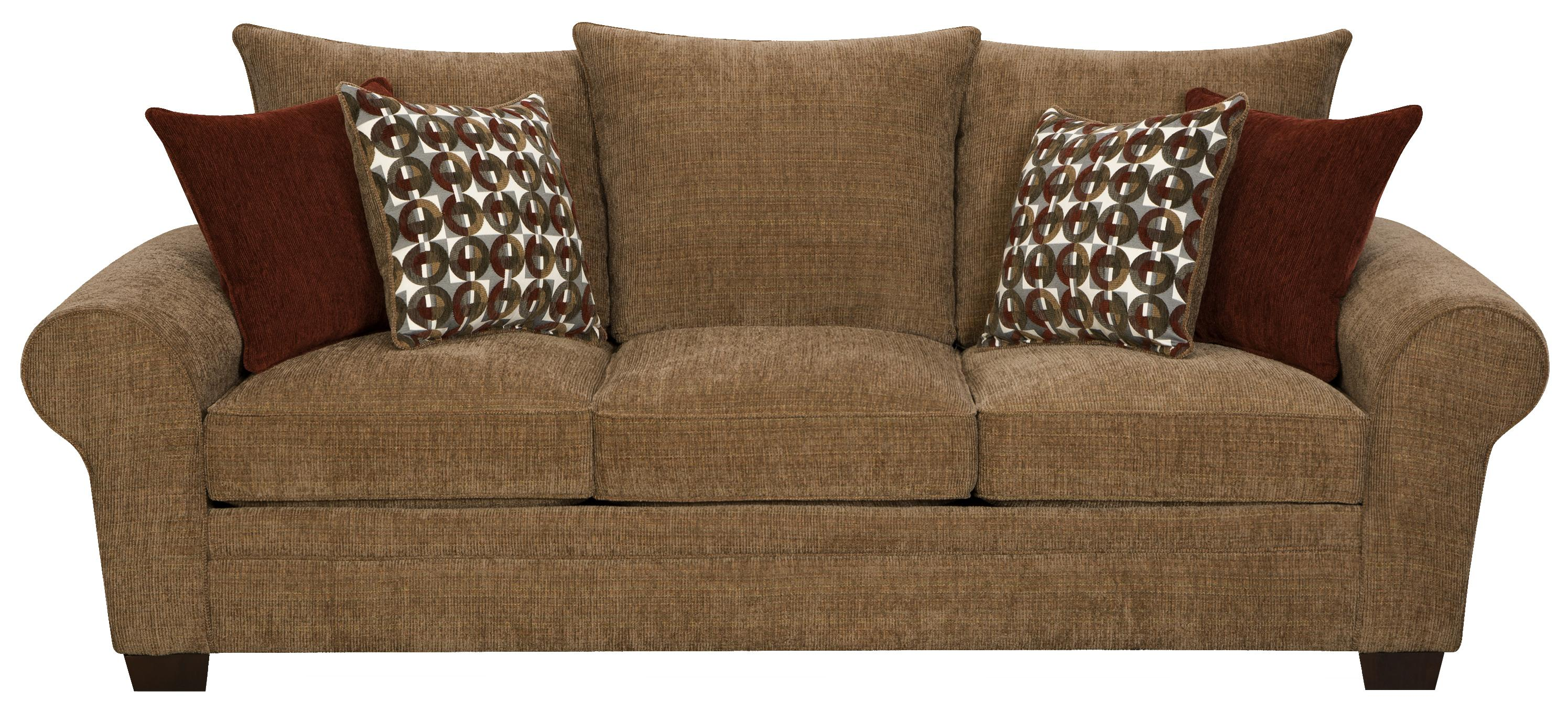 Elegant and casual living room sofa sleeper for family for Comfortable family sofa