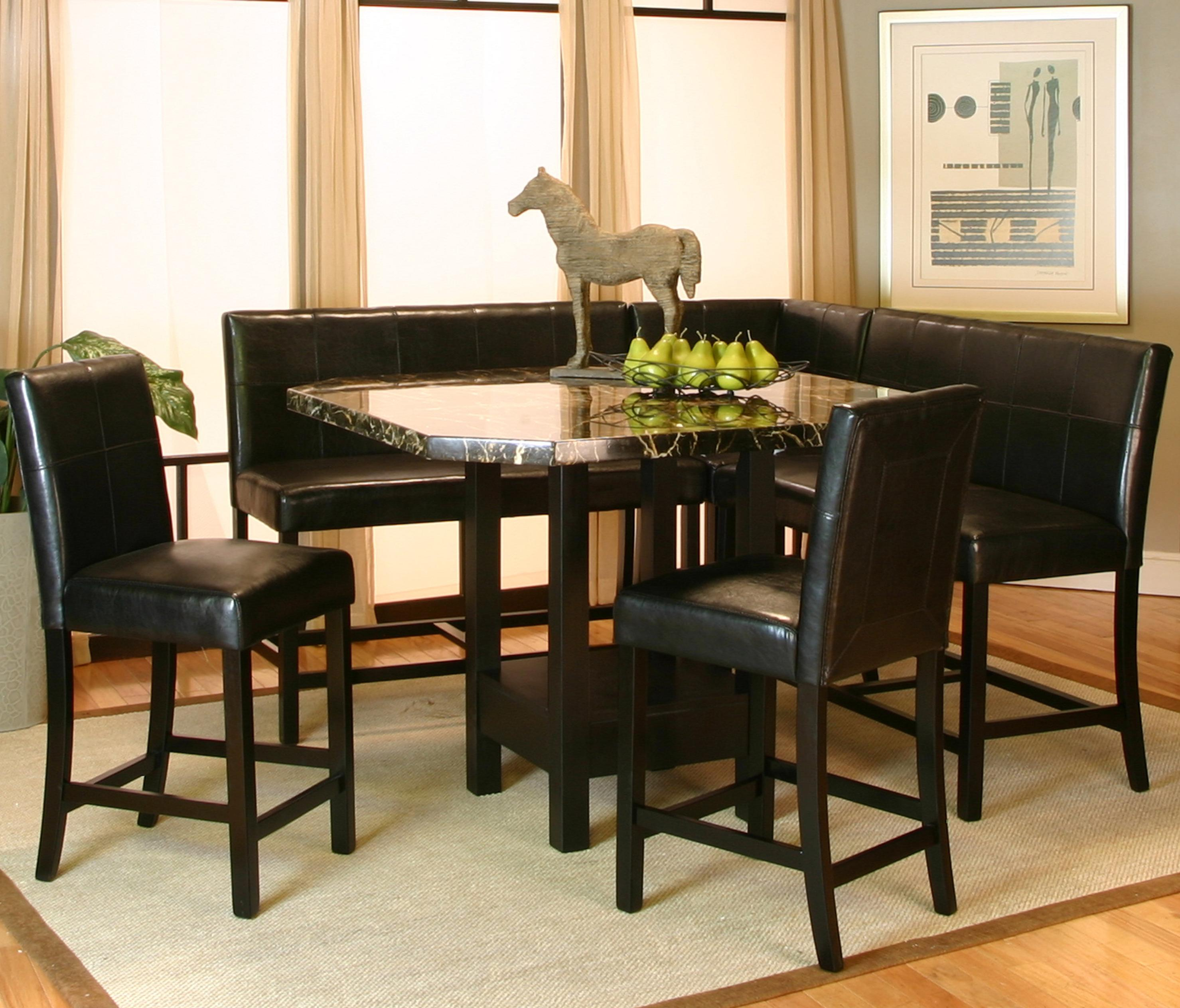 5 piece pub table set by cramco inc wolf and gardiner. Black Bedroom Furniture Sets. Home Design Ideas