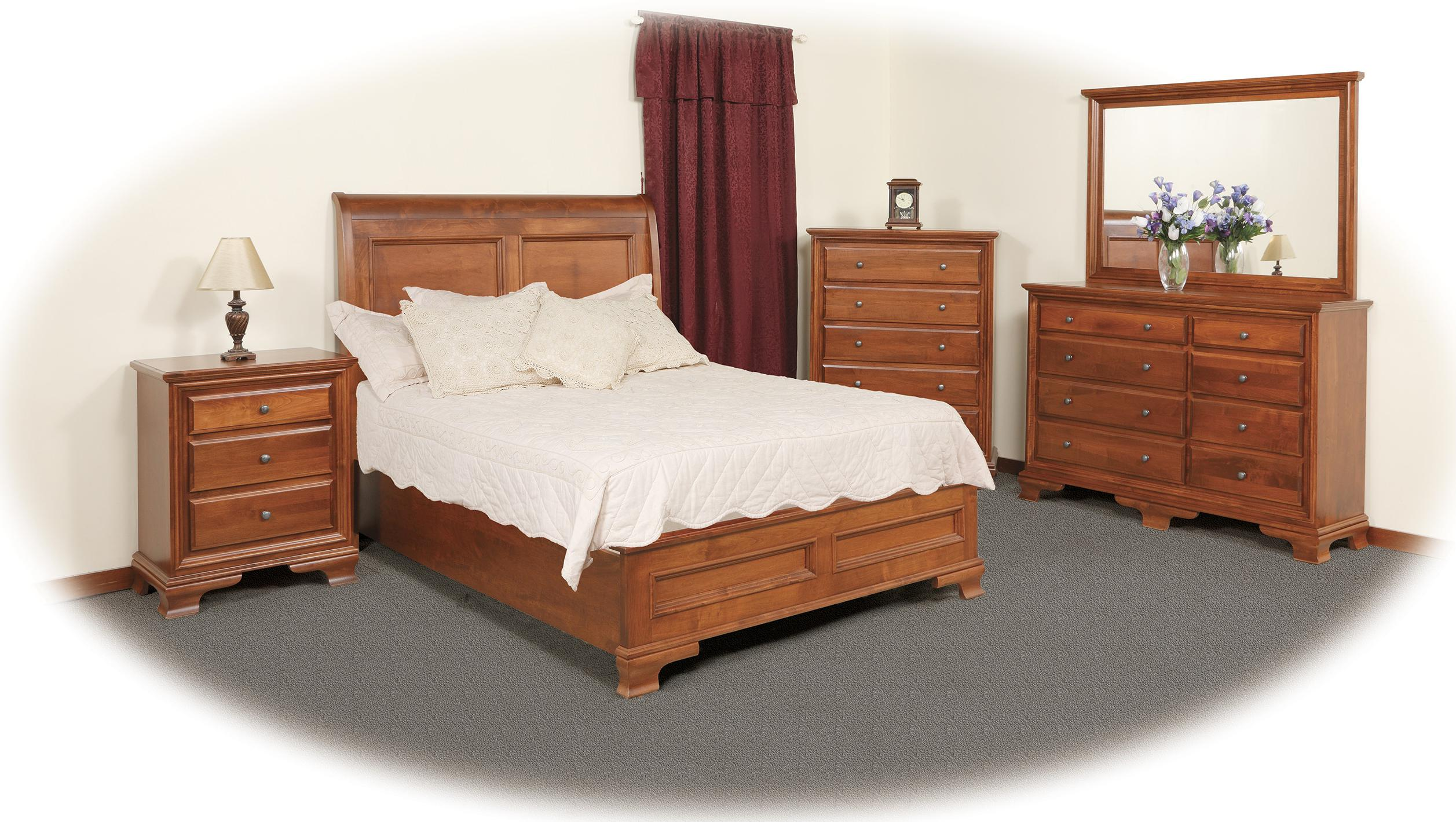 8 drawer triple dresser by daniel 39 s amish wolf and gardiner wolf furniture. Black Bedroom Furniture Sets. Home Design Ideas
