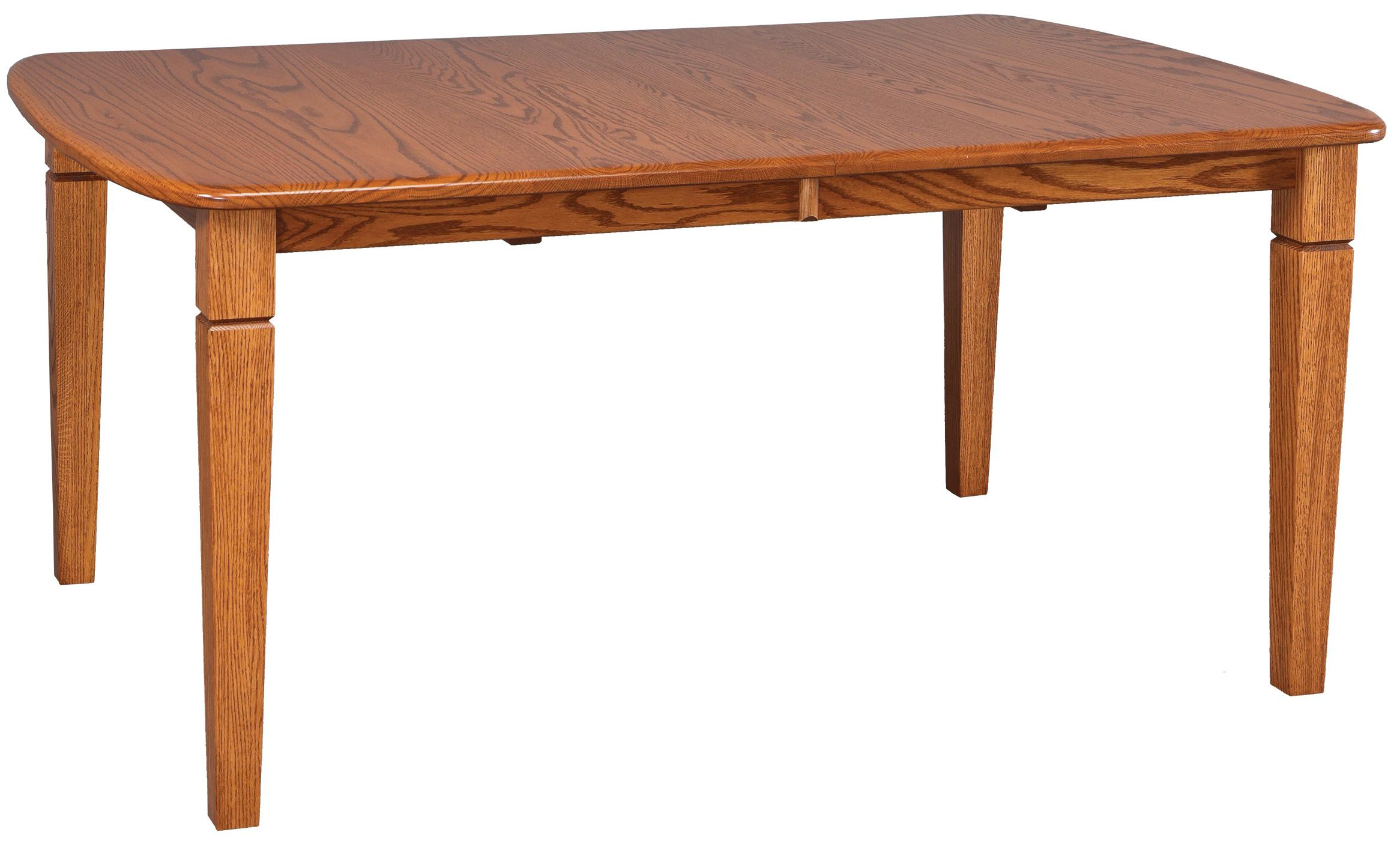 Solid Wood Rectangular Table by Daniel s Amish