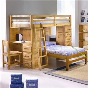 student loft bed. Black Bedroom Furniture Sets. Home Design Ideas