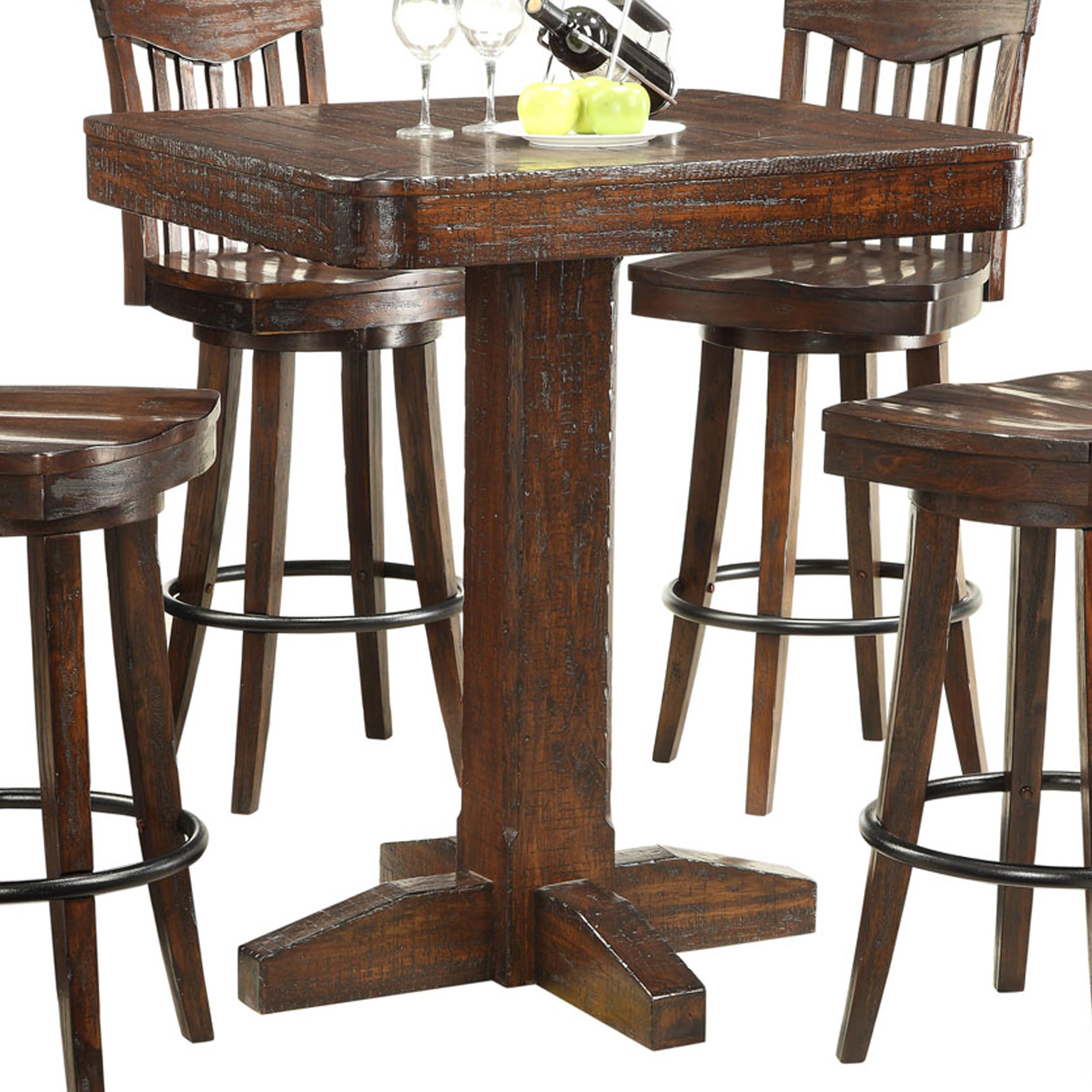 Dining pub table by e c i furniture wolf and gardiner for Furniture 2 u
