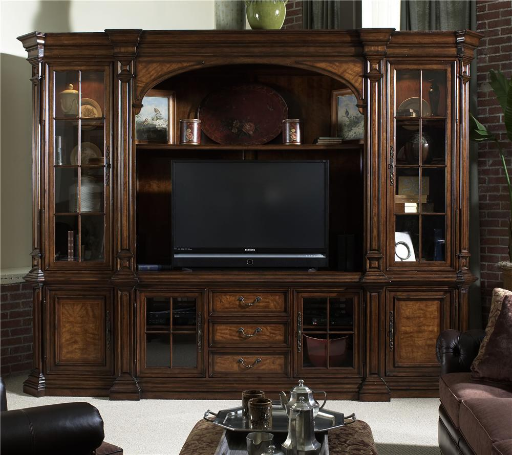 Entertainment center wall unit with by fine furniture Wall unit furniture