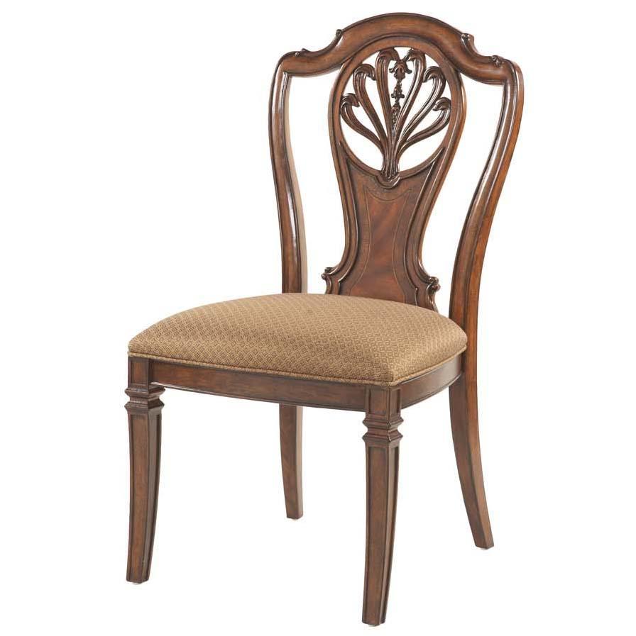 Decorative Splat Back Side Chair by Fine Furniture Design