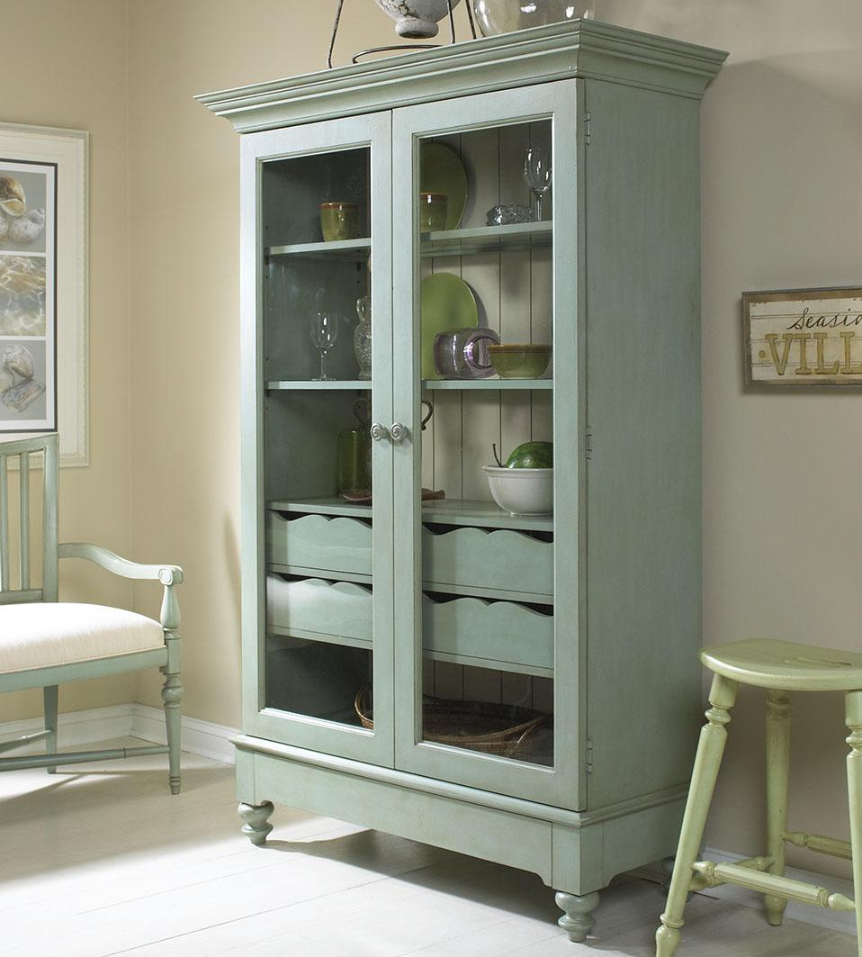 Display Cabinet with 2 Glass Doors by Fine Furniture