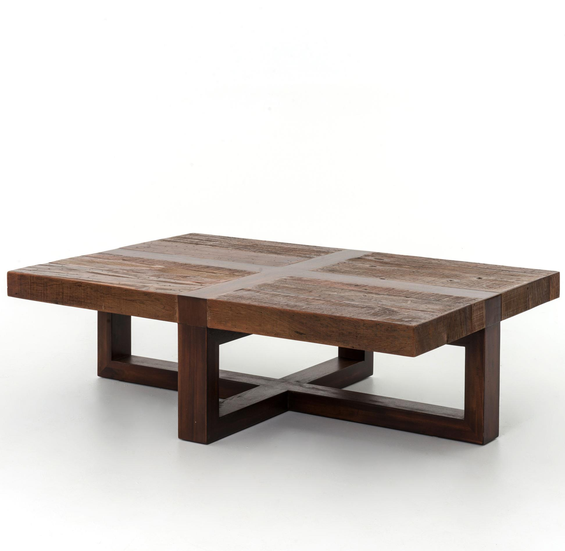 Reclaimed bryan coffee table by four hands wolf and for Coffee tables york pa