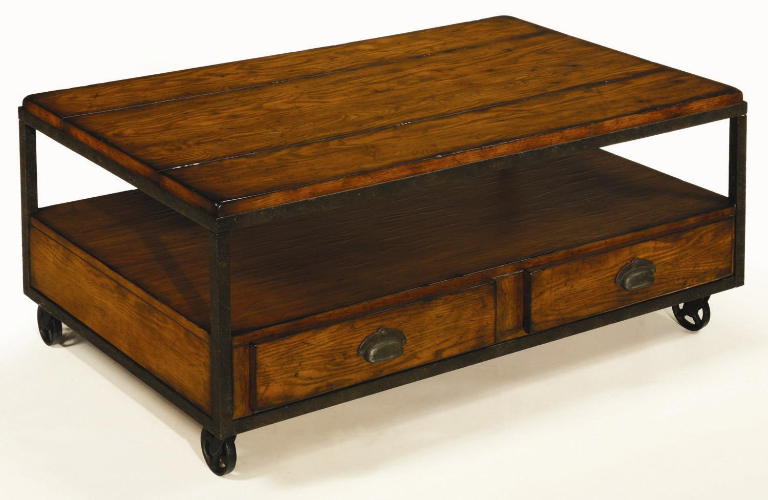 Rectangular Storage Cocktail Table By Hammary Wolf And Gardiner Wolf Furniture