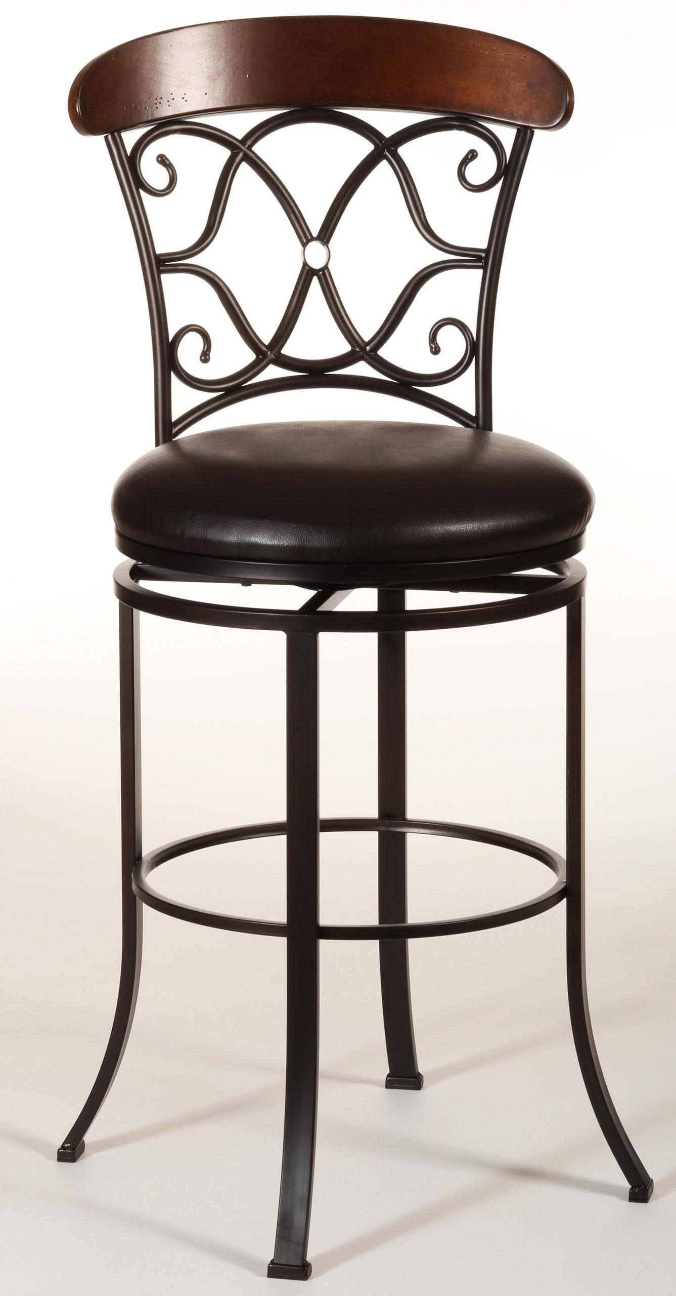 dundee swivel counter stool by hillsdale wolf and gardiner wolf furniture. Black Bedroom Furniture Sets. Home Design Ideas