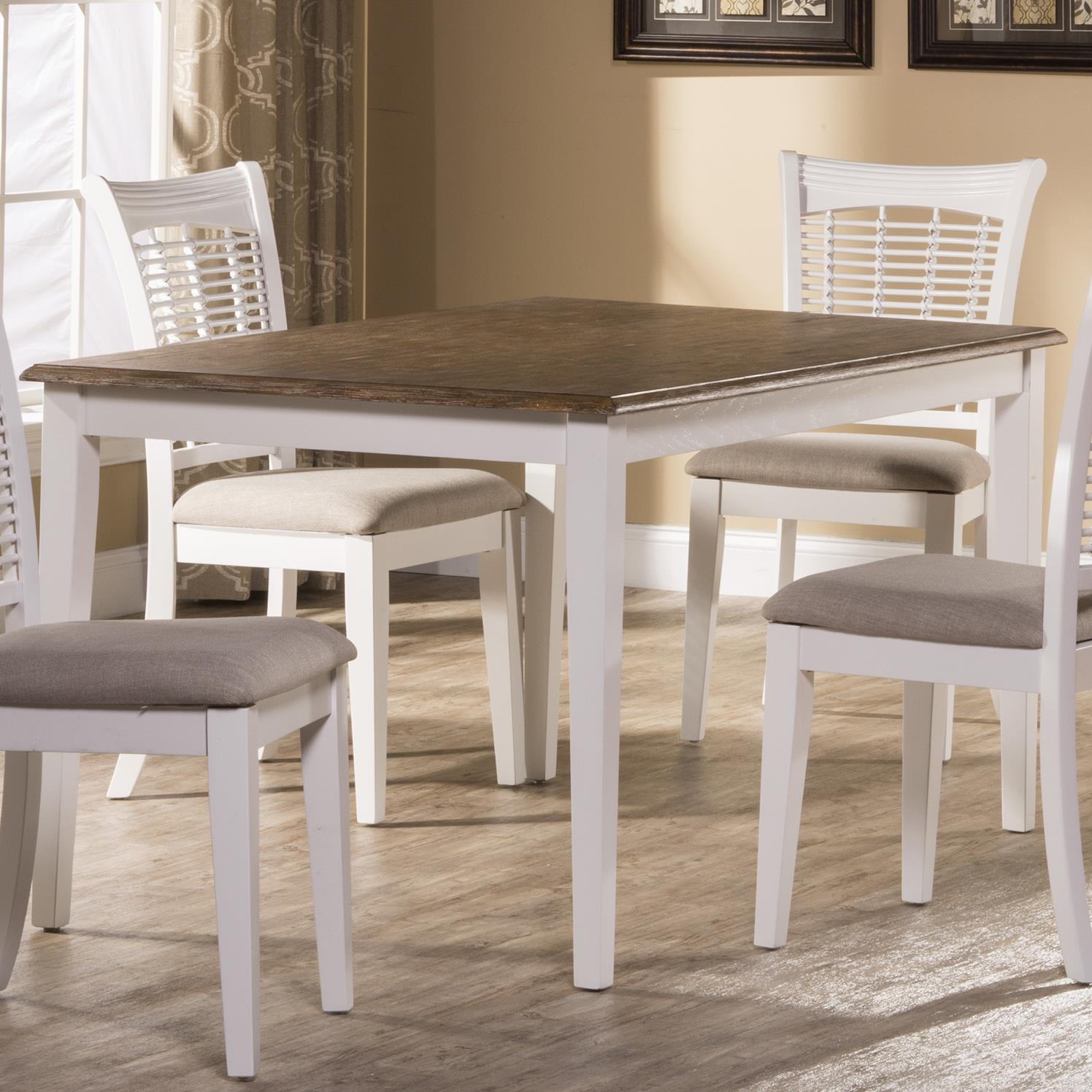 casual rectangular dining table by hillsdale wolf and gardiner wolf