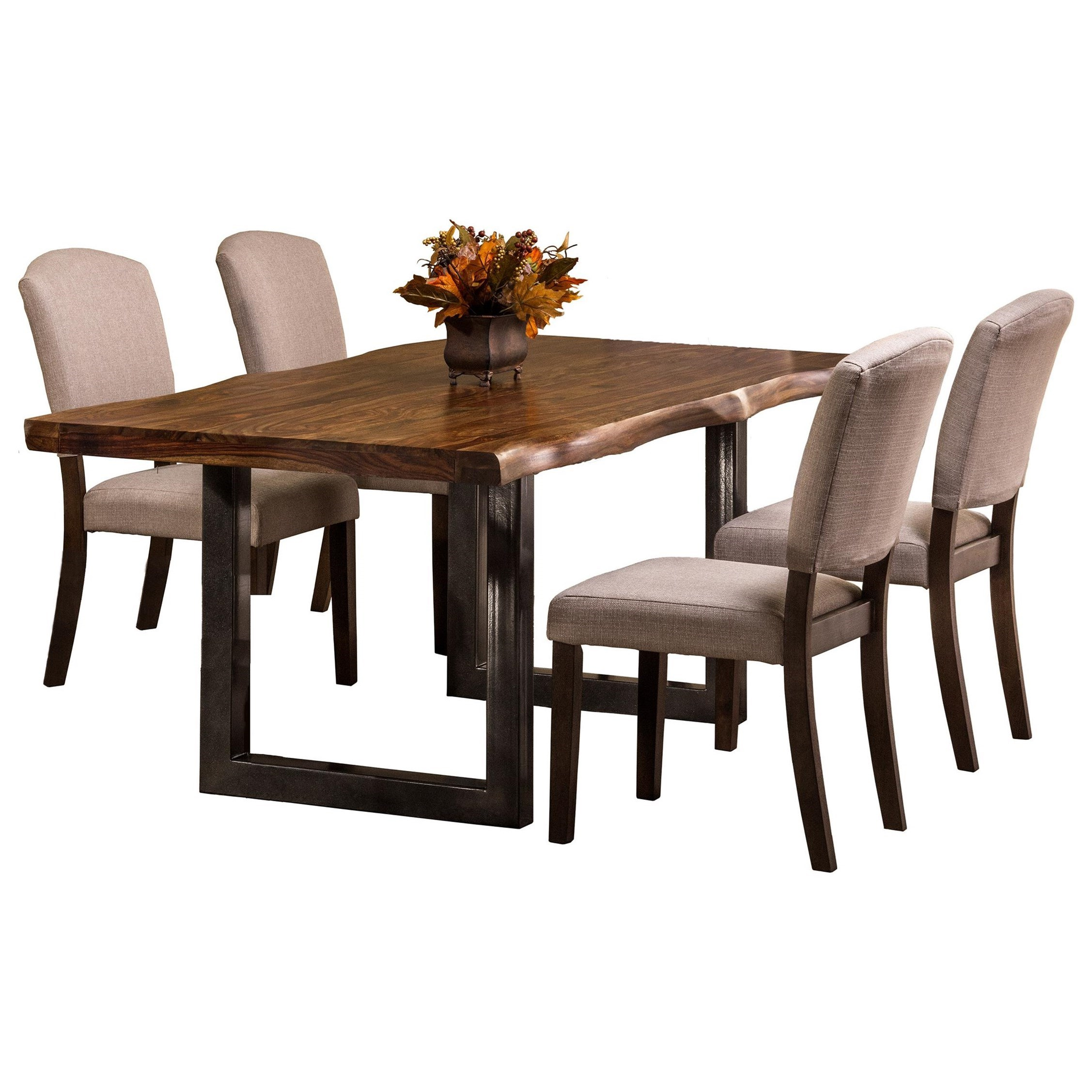 natural sheesham wood rectangular dining table by hillsdale wolf and gardiner wolf furniture. Black Bedroom Furniture Sets. Home Design Ideas