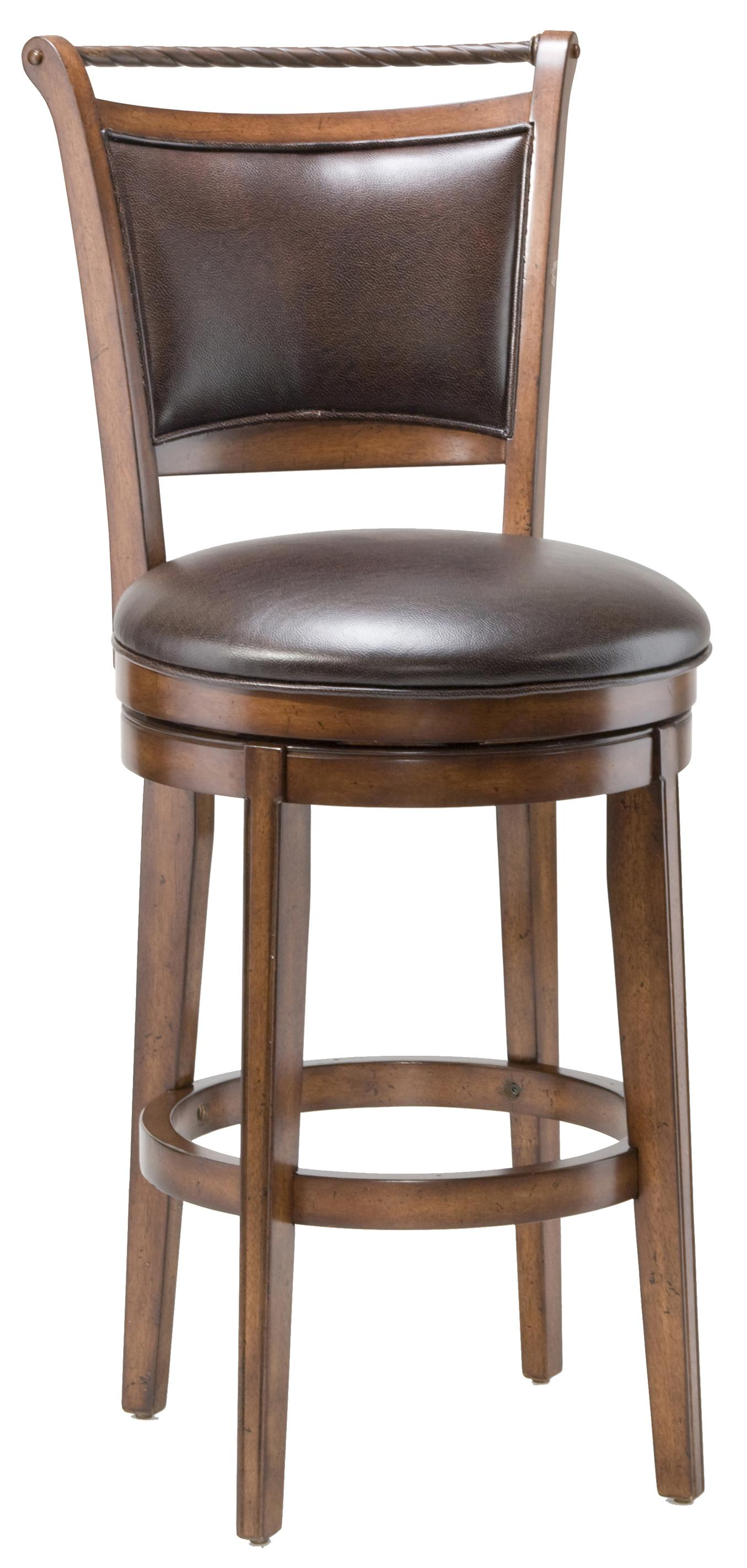 26 Quot Counter Height Calais Swivel Stool By Hillsdale Wolf