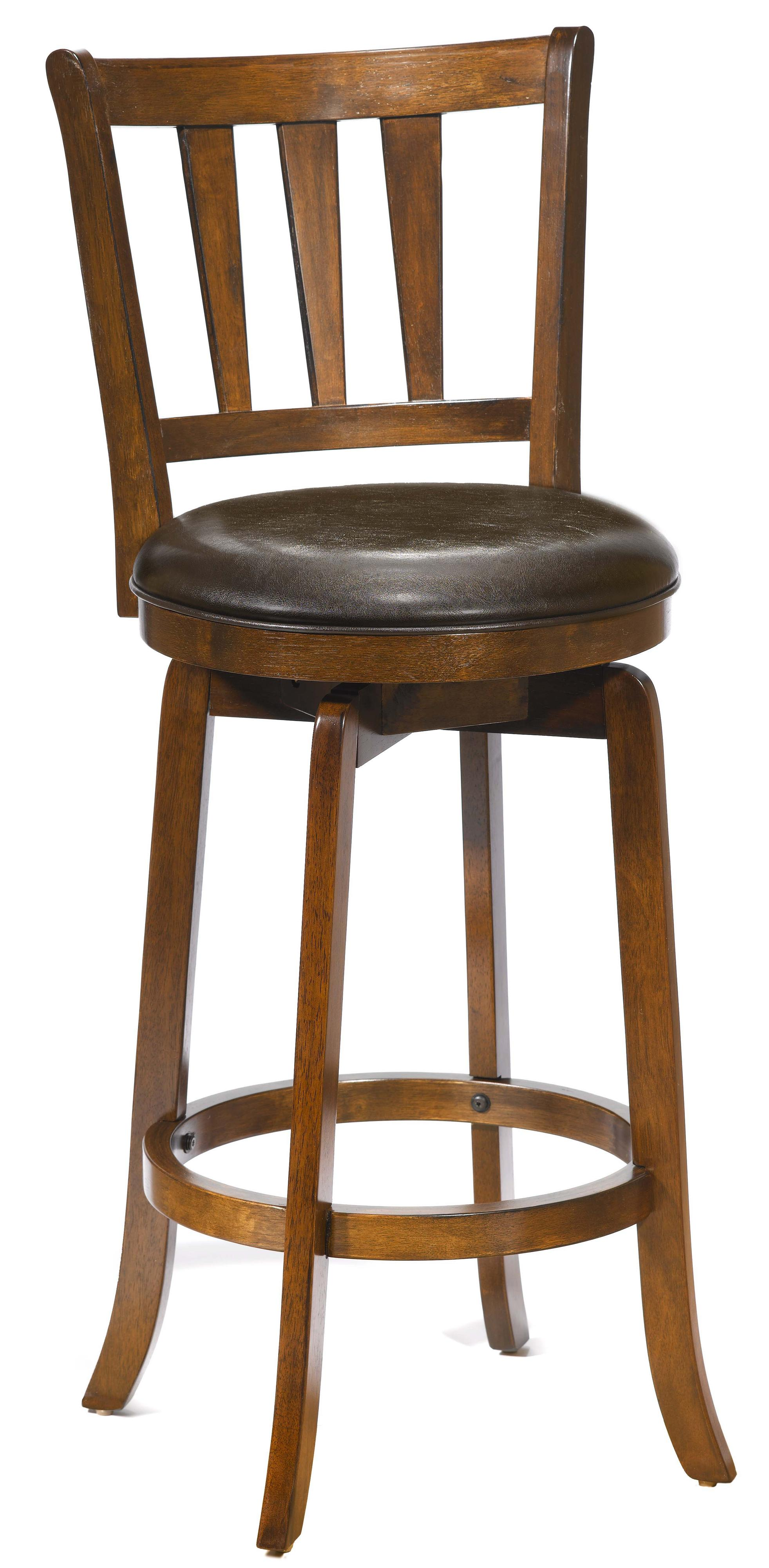 26 counter height presque isle swivel bar stool by hillsdale wolf and gardiner wolf furniture. Black Bedroom Furniture Sets. Home Design Ideas