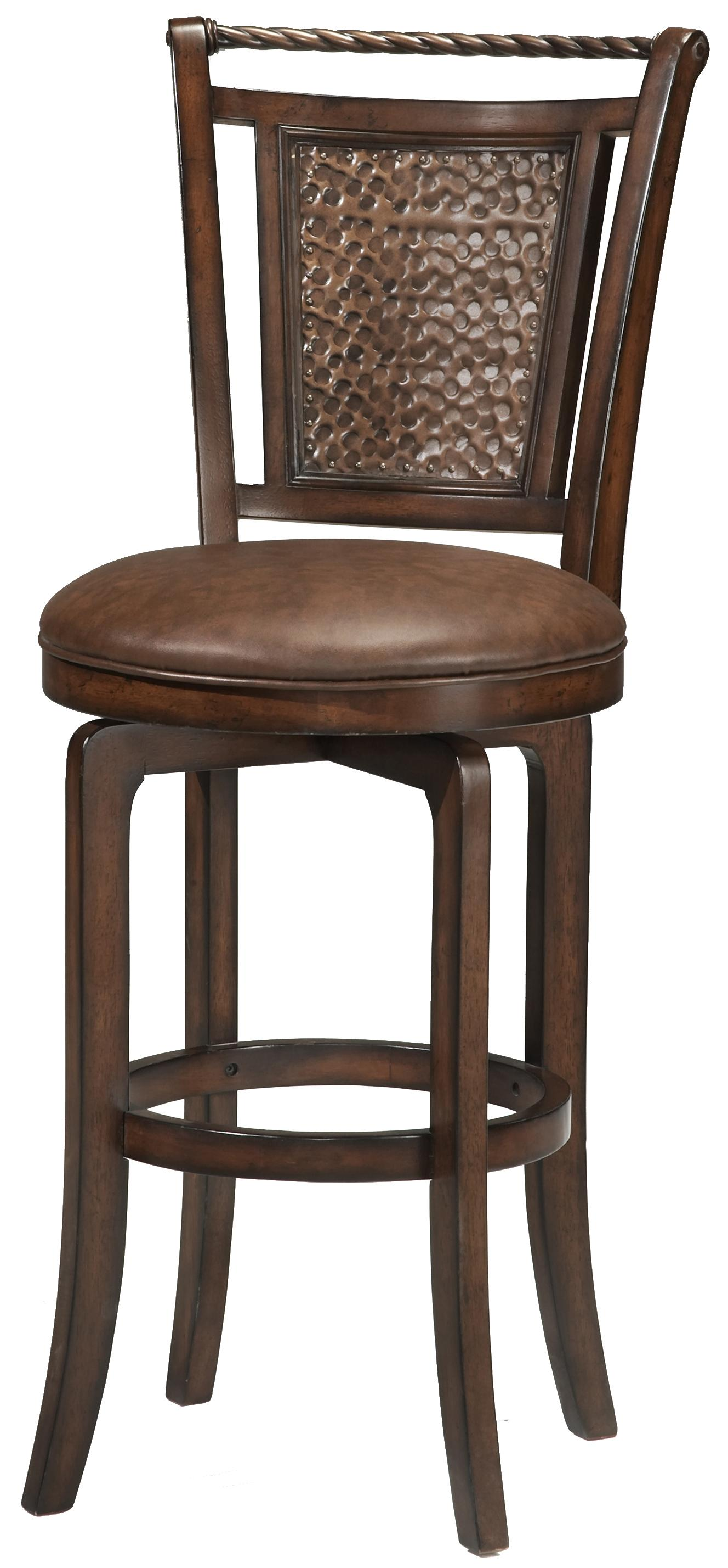 """26 5"""" Counter Height Norwood Swivel Stool by Hillsdale"""