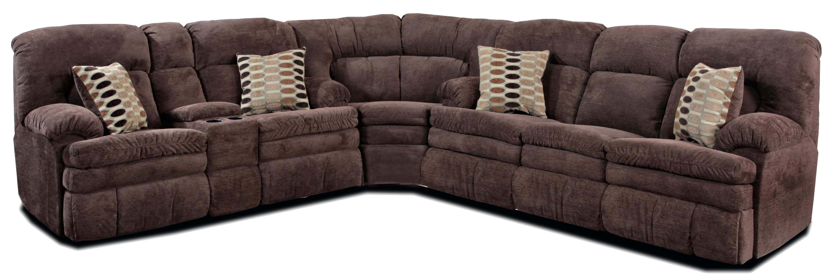 Reclining corner sectional sofa with left side cup holder for Kid friendly sectional sofa