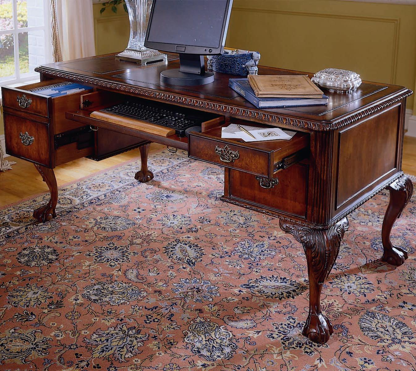 Ball and Claw Writing Desk by Hooker Furniture