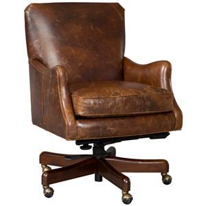 Fairfield Office Furnishings Smooth Armless Swivel Chair Belfort Furniture