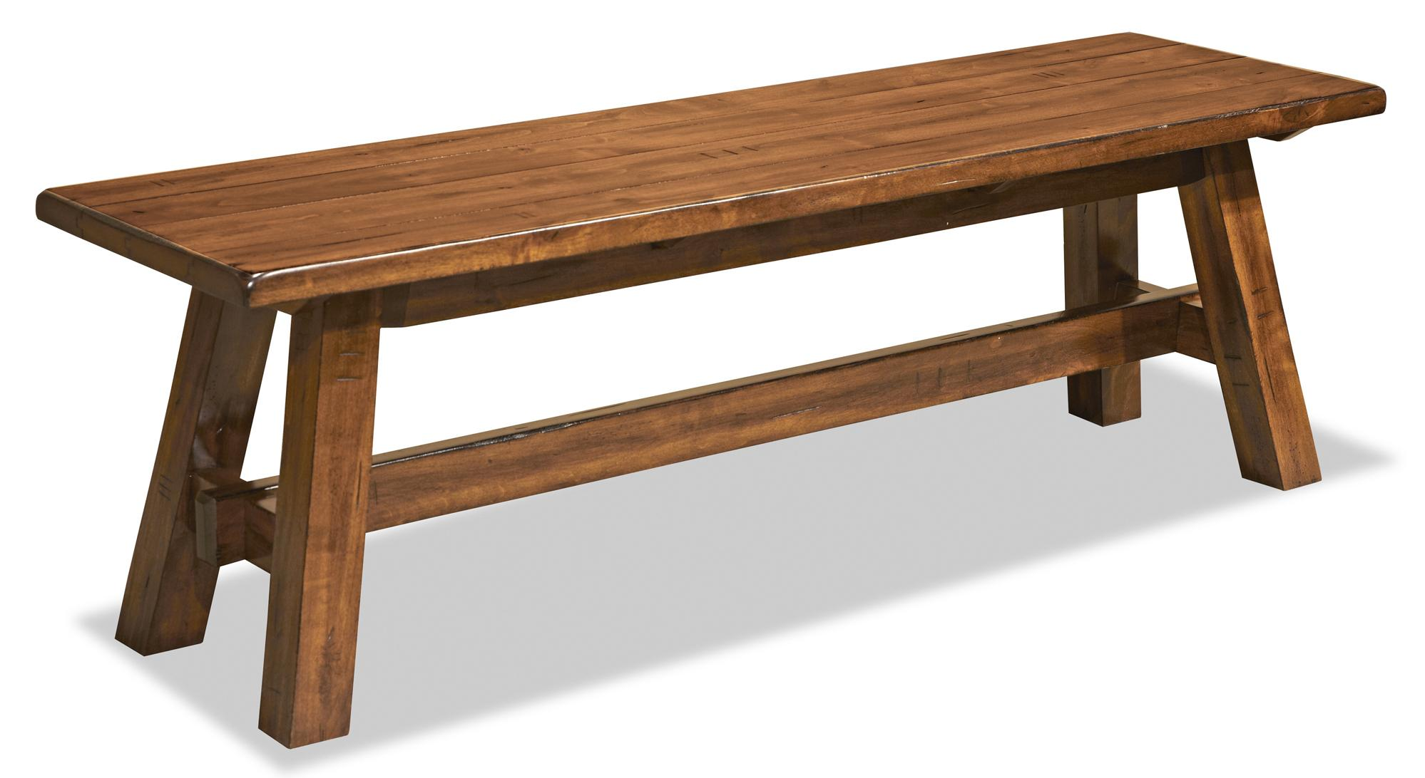 Dining Bench With Wood Seat By Intercon Wolf And Gardiner Wolf Furniture