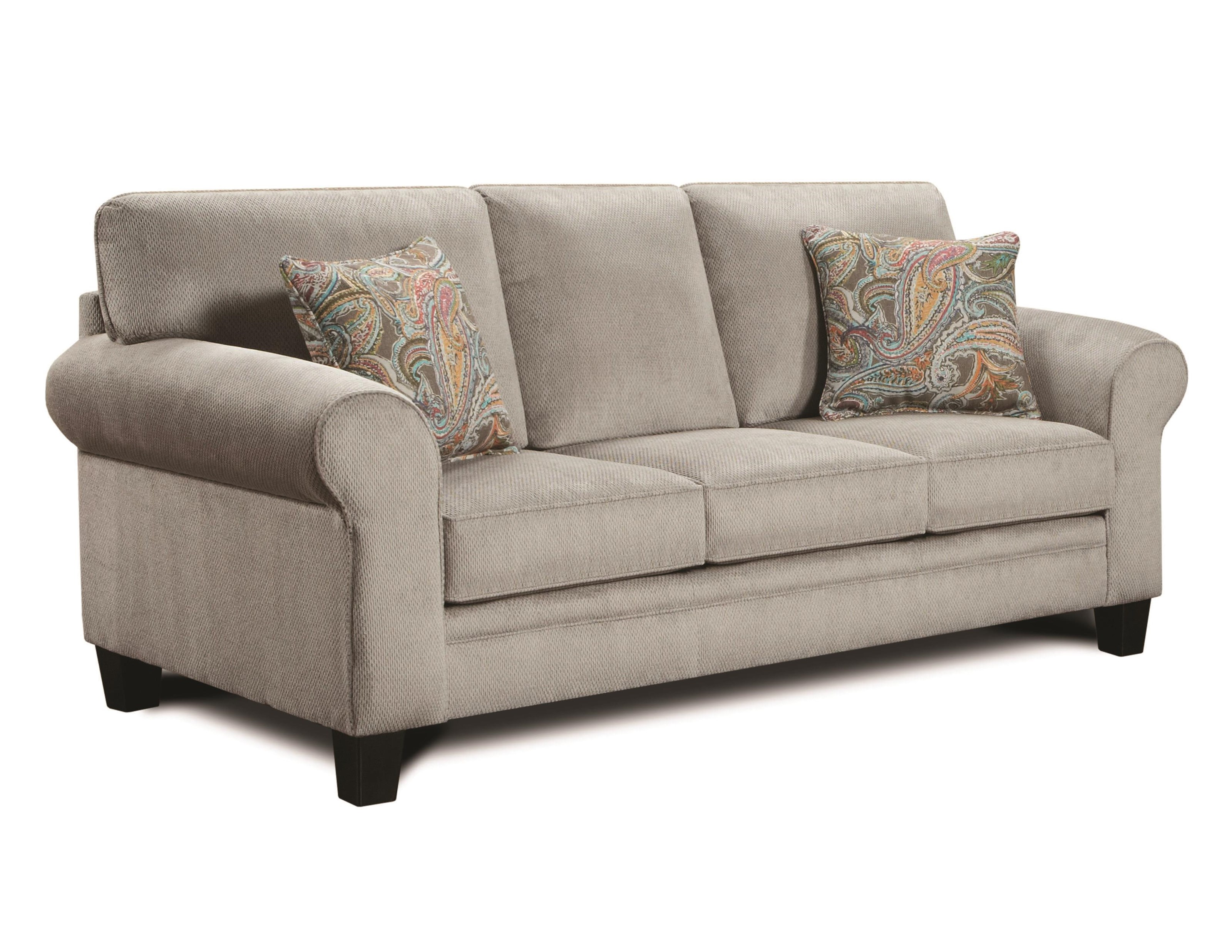 Transitional style sofa by j henry wolf and gardiner for Sectional sofas wolf furniture