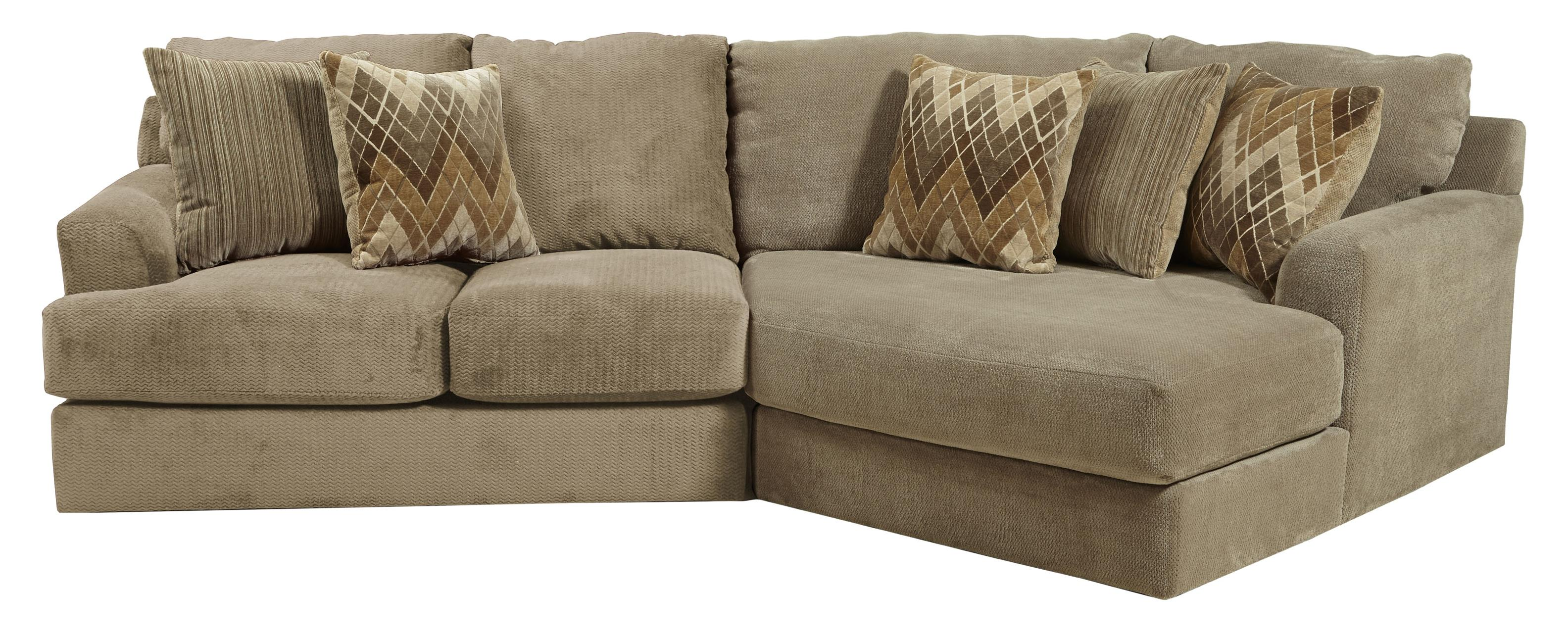 Small three seat sectional sofa by jackson furniture for Jackson furniture sectional sofa