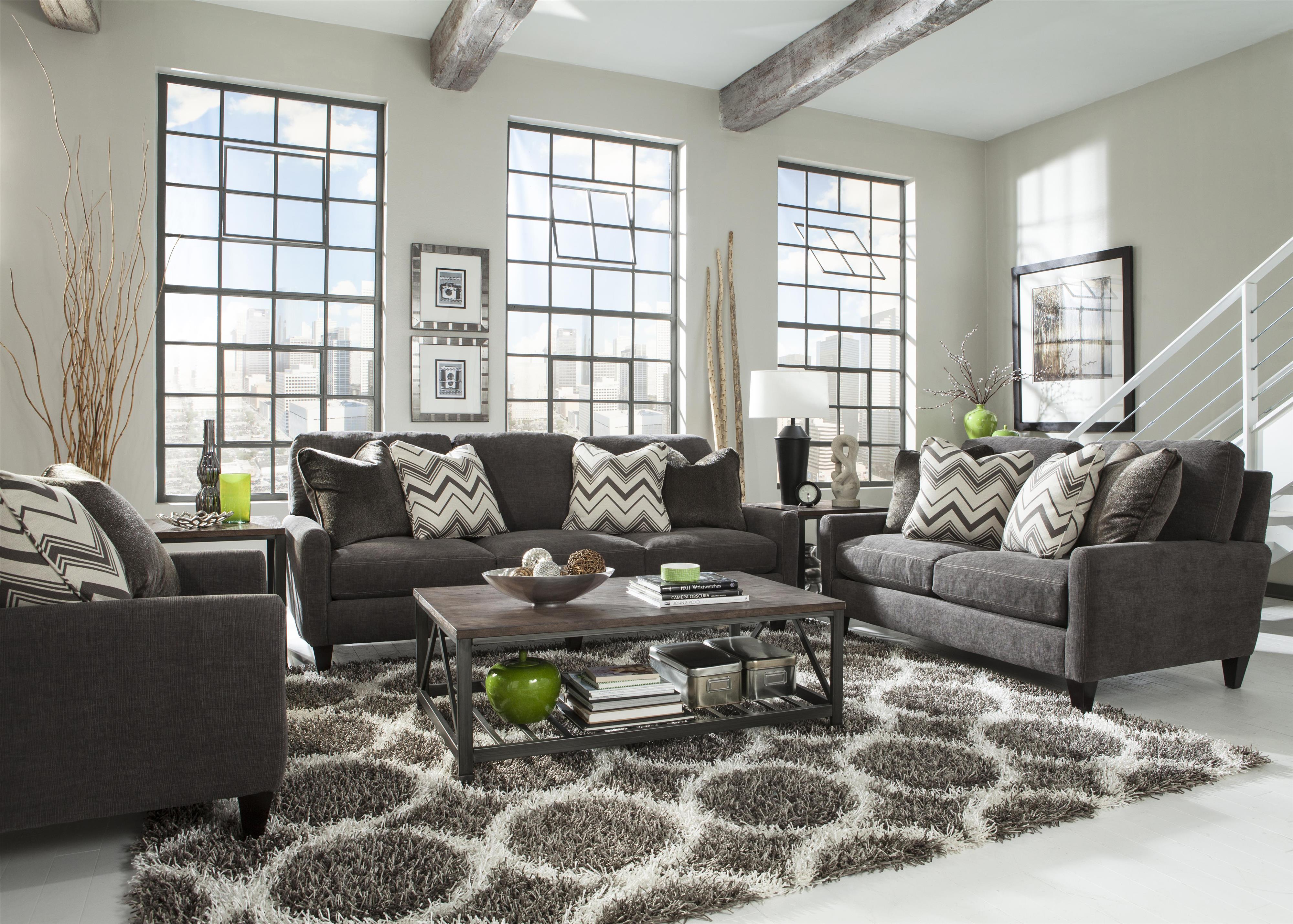 Good Loveseat With Asual Ontemporary Style By Jackson Furniture .