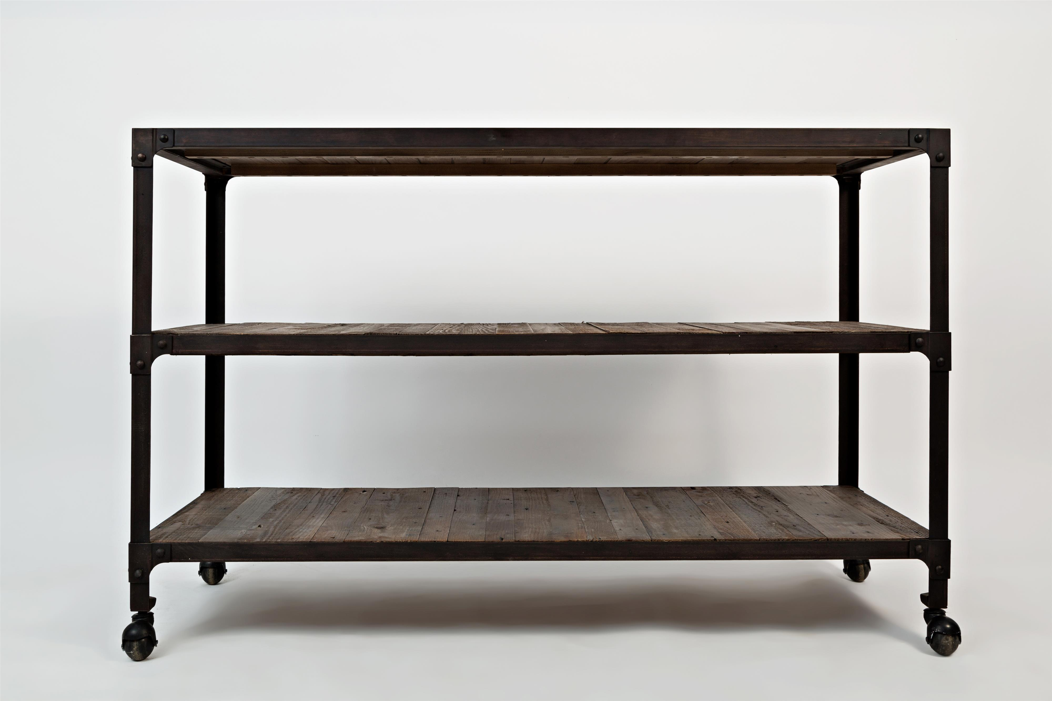 Franklin forge sofa table by jofran wolf and gardiner for Sofa table 50 inches