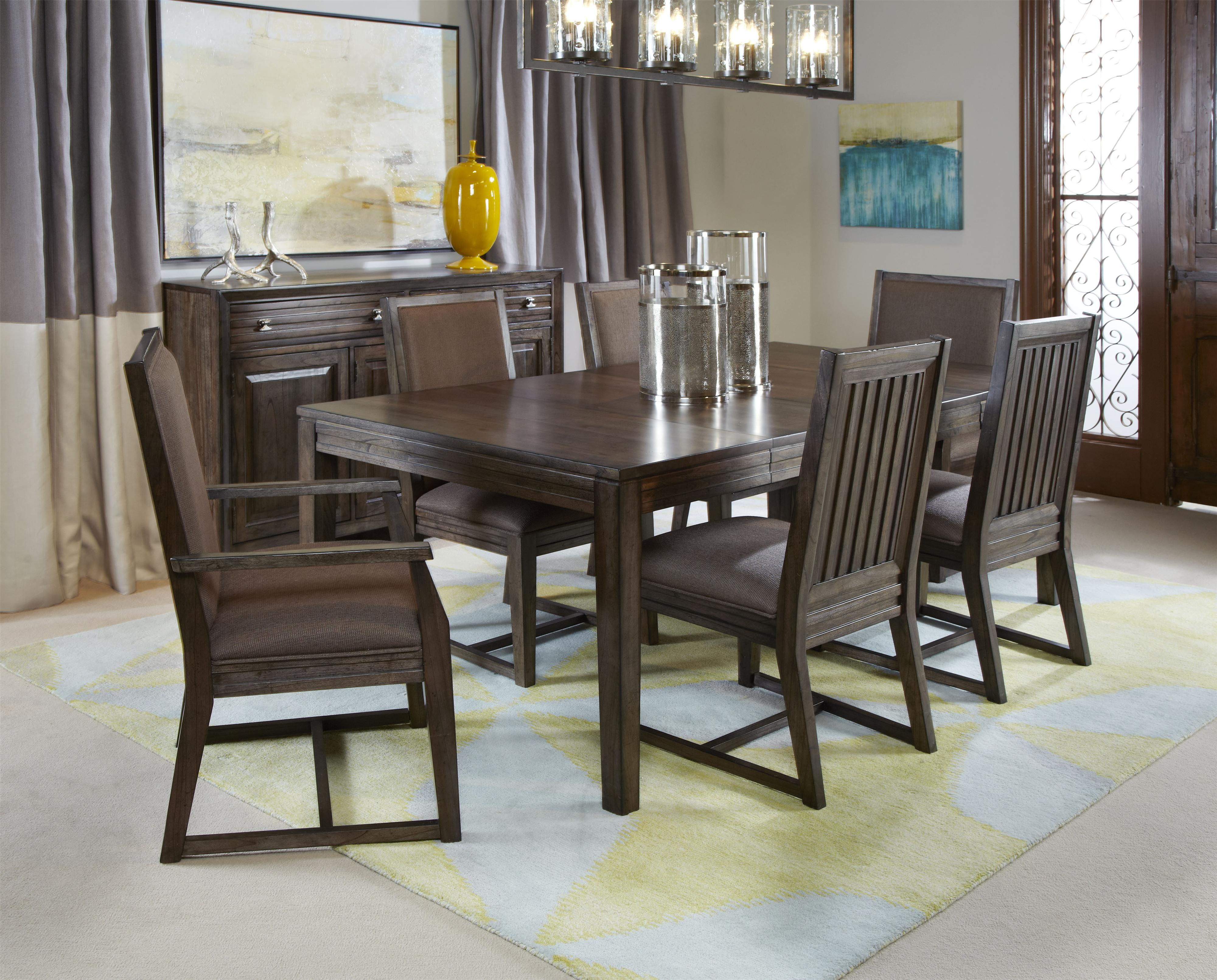 Cornerstone Rectangular Solid Wood Dining Table by Kincaid