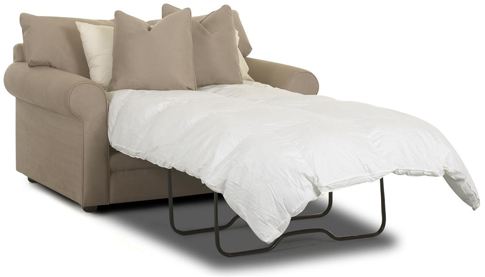 Oversized chair sleeper with innerspring mattress by for Oversized armchairs for sale