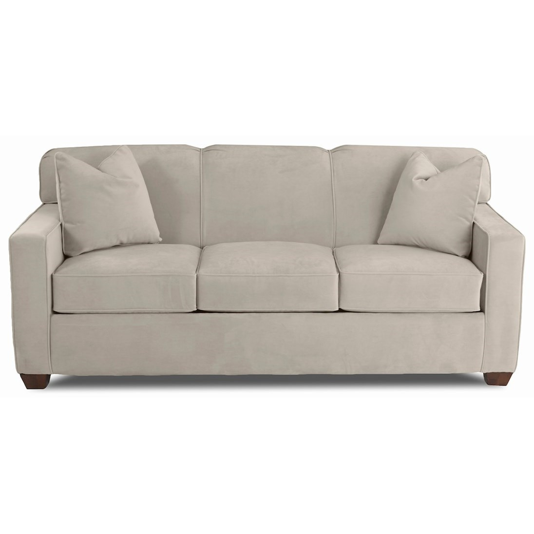 Sofa Tight Back Tufted Tight Back Linen Sofa At 1stdibs Wesley