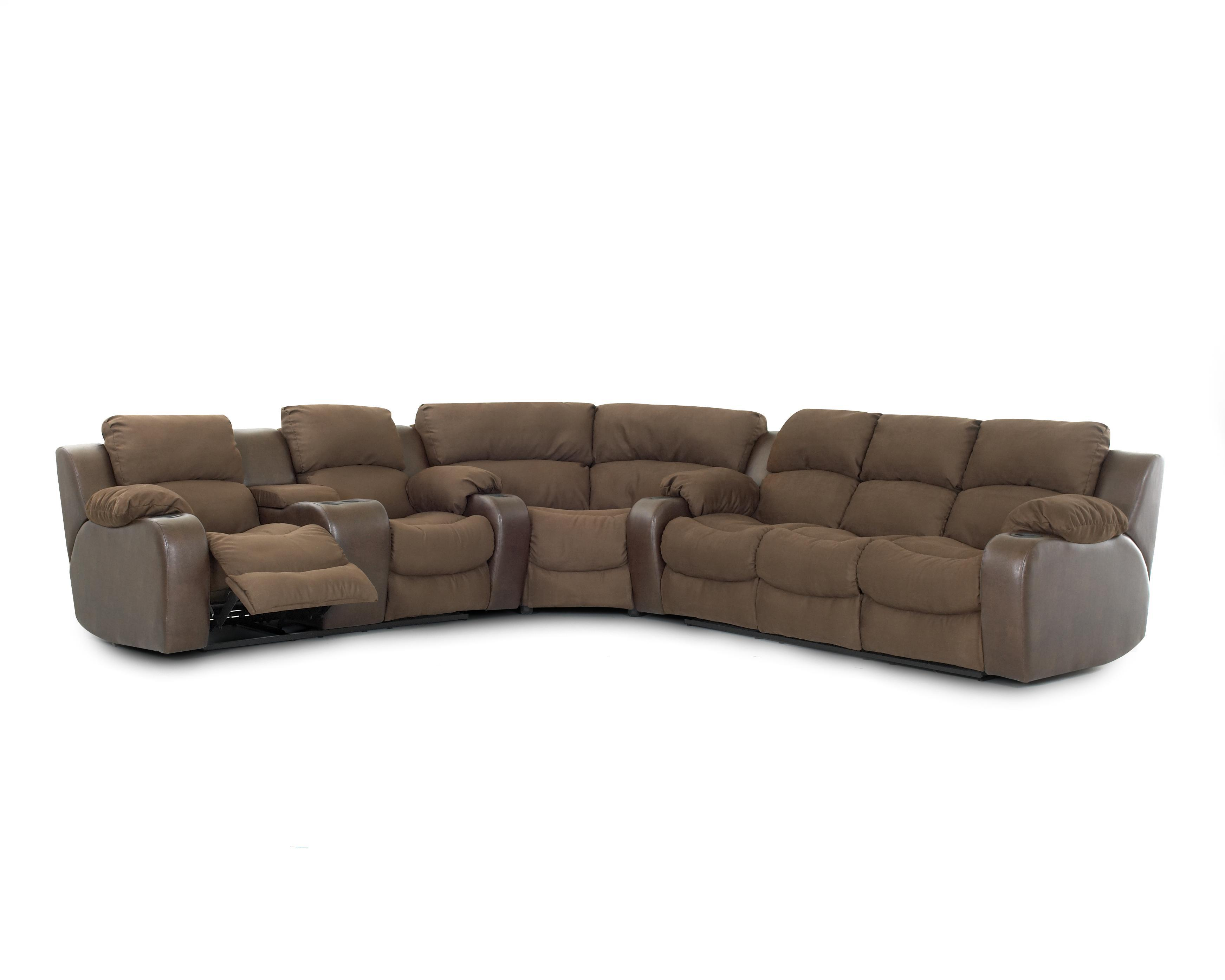 Reclining sofa with console best affordable sofa 17 best for Best affordable sofas