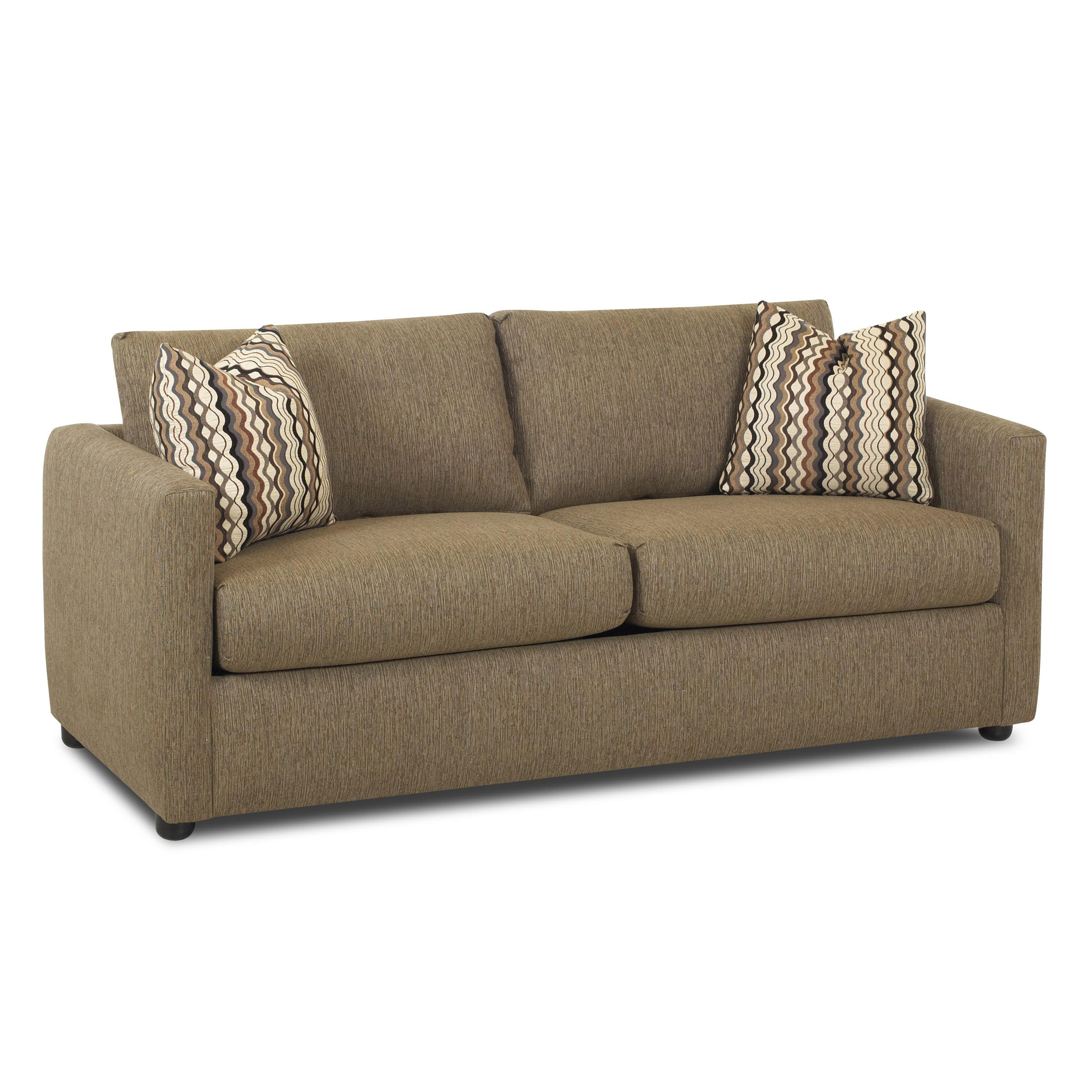 regular full size sleeper sofa by klaussner wolf and gardiner wolf furniture. Black Bedroom Furniture Sets. Home Design Ideas