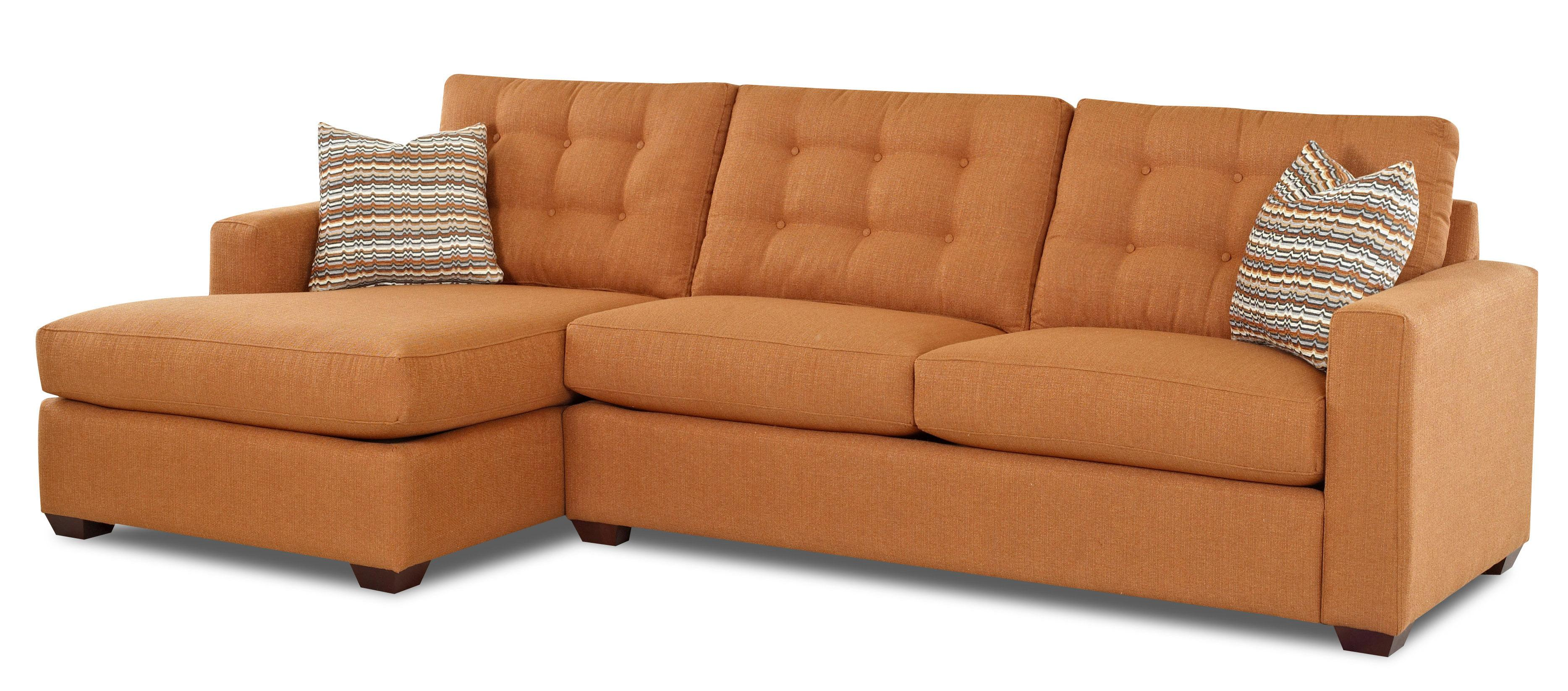 Contemporary Sectional Sofa with Left Facing Chaise Lounge